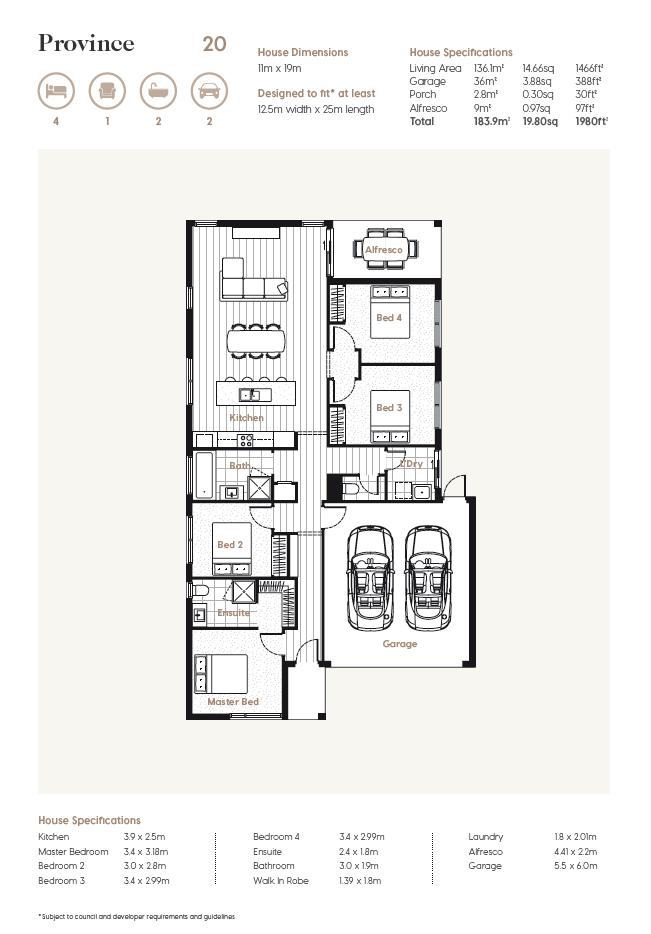 Floor Plan   Province 20