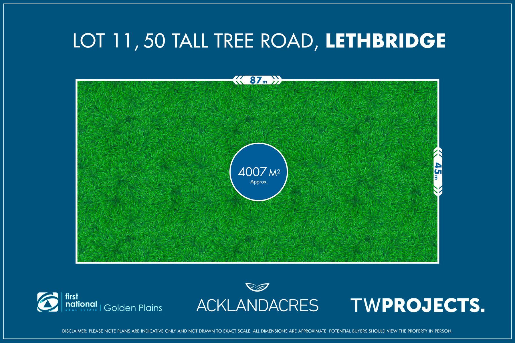 Lot 11, 50 Tall Tree Road, Lethbridge, VIC 3332