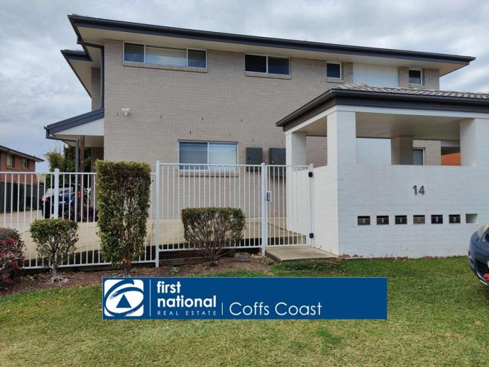 1/14 San Francisco Avenue, Coffs Harbour, NSW 2450