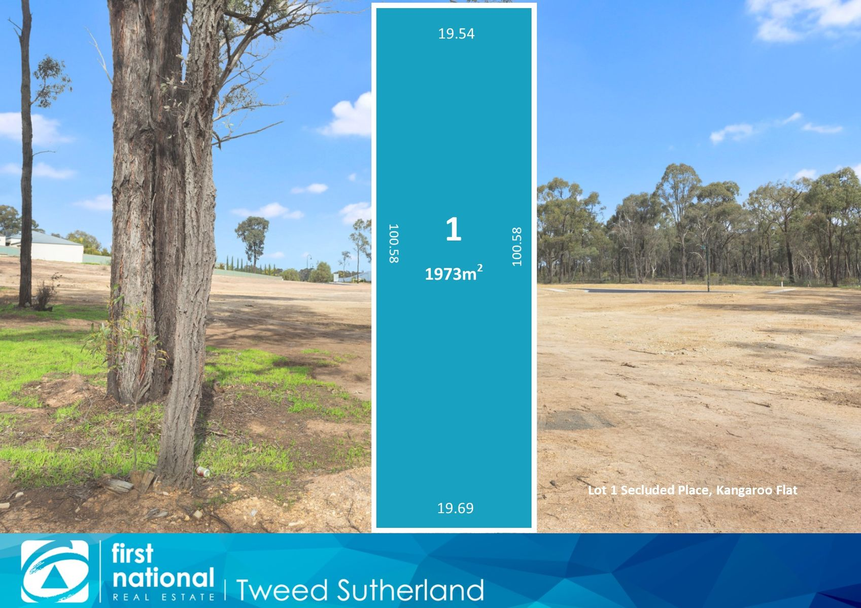 Lot 1  Secluded Place, Kangaroo Flat, VIC 3555