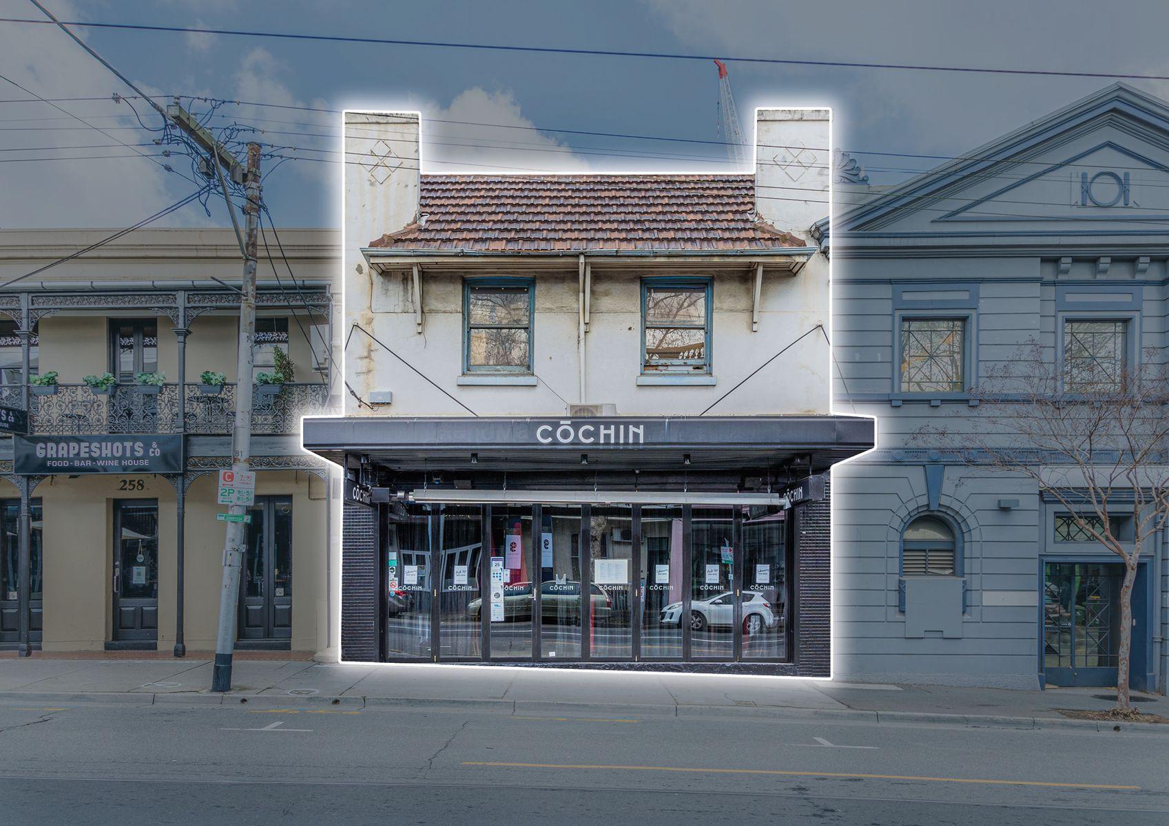 TC0328 256 Swan Street, Richmond MarkUp Front