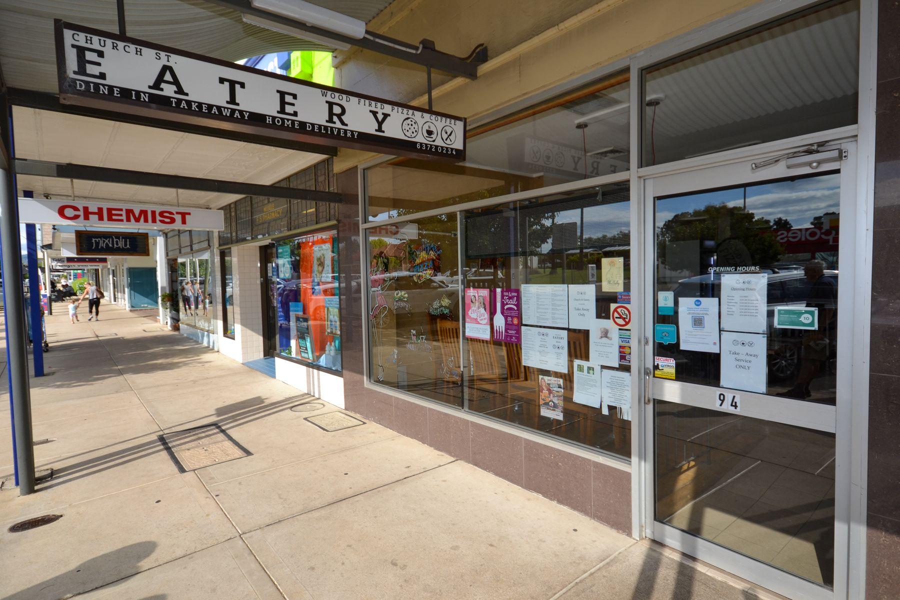 Church St Eatery, 94 Church Street, Mudgee, NSW 2850
