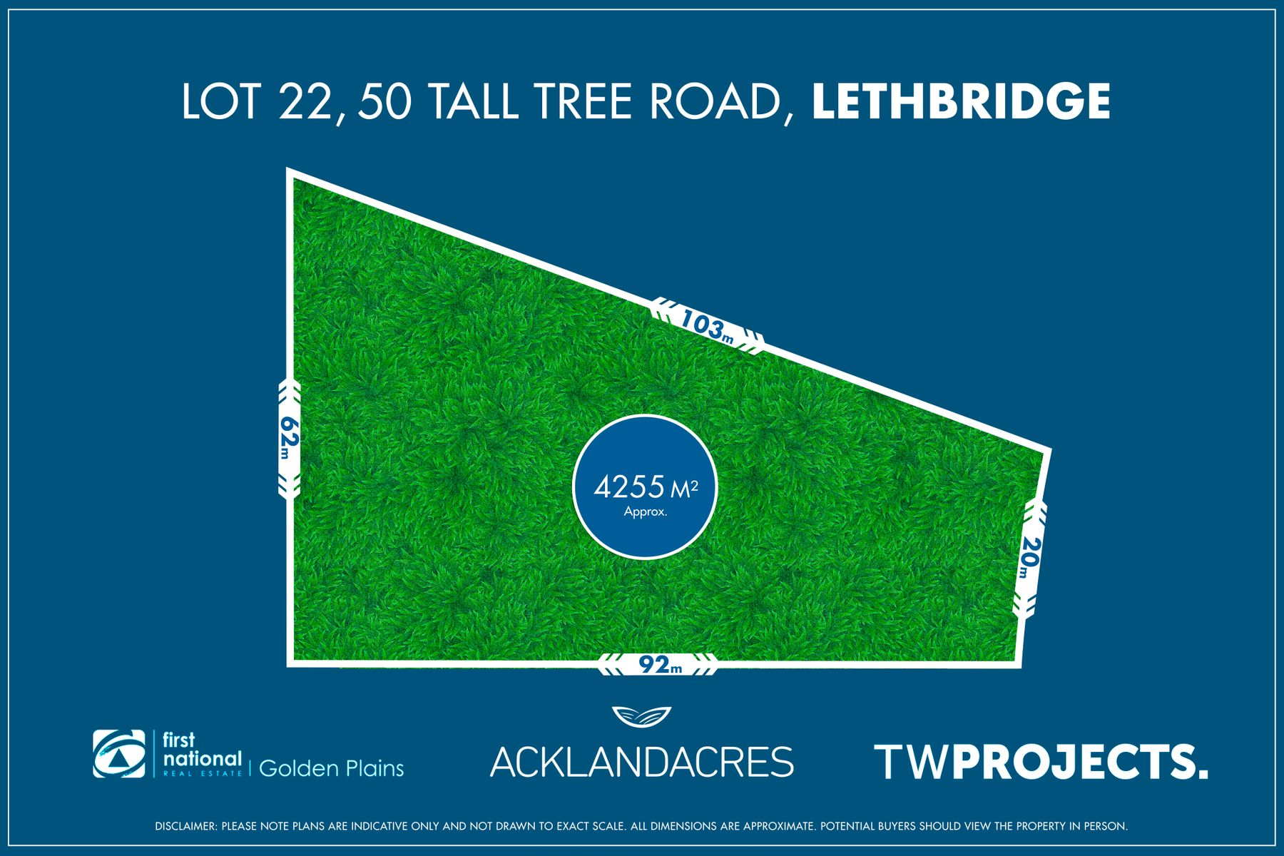 Lot 22, 50 Tall Tree Road, Lethbridge, VIC 3332