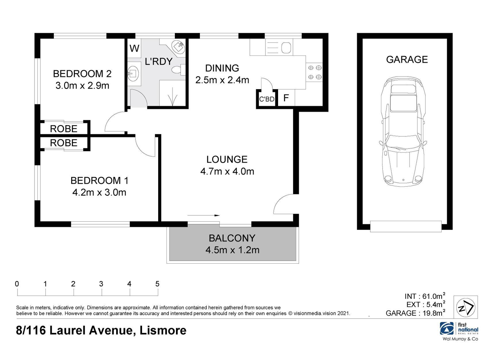 8/116 Laurel Avenue, Lismore, NSW 2480