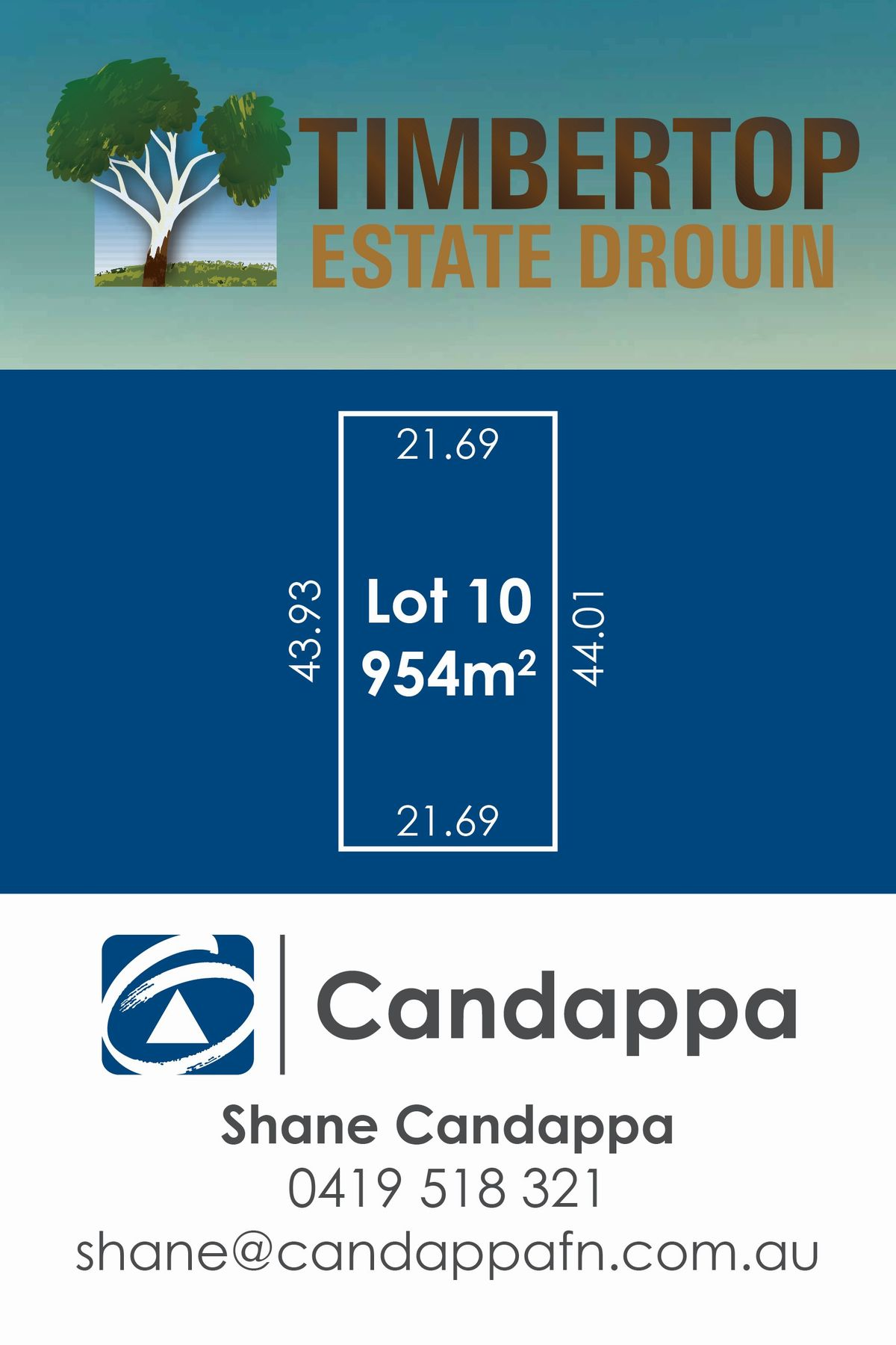 21 (LOT 10) Timbertop Crescent, Drouin, VIC 3818