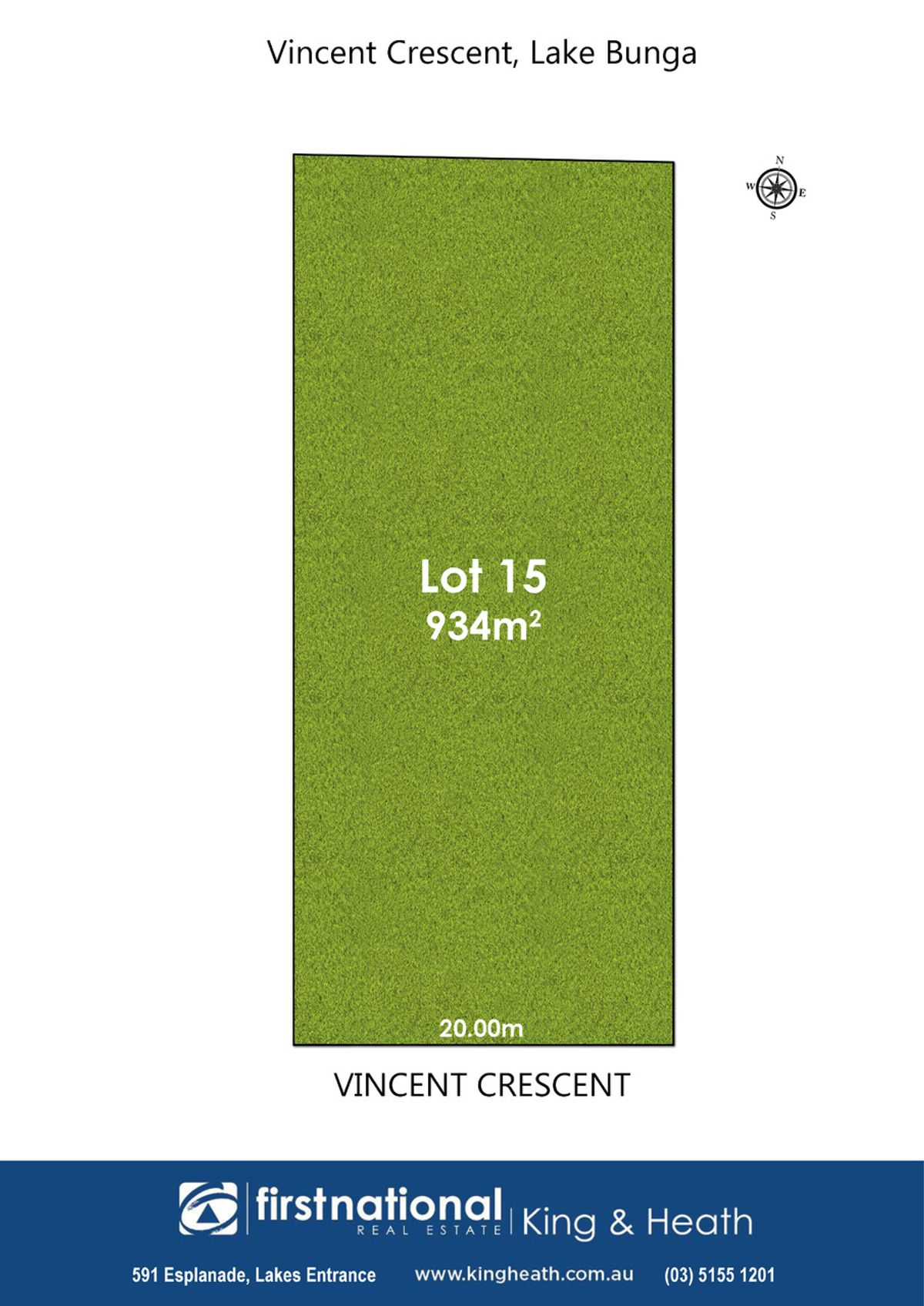 Lot 8, 15 Vincent Crescent, Lake Bunga, VIC 3909
