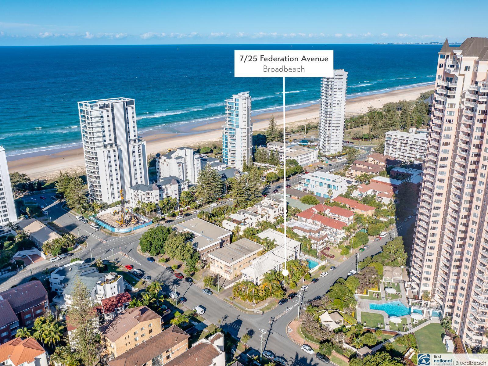 7/25 Federation Avenue, Broadbeach, QLD 4218