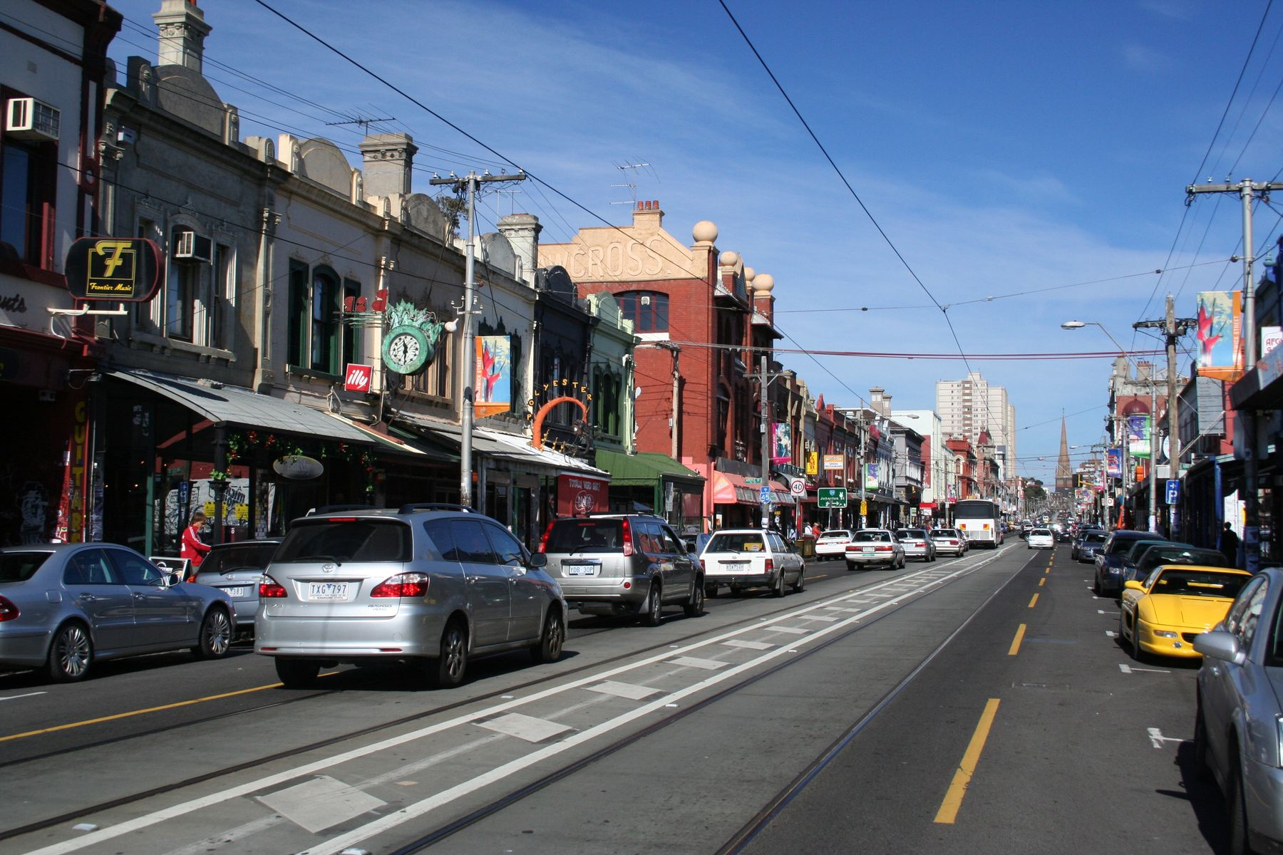 Brunswick Street, Fitzroy, Victoria, Australia
