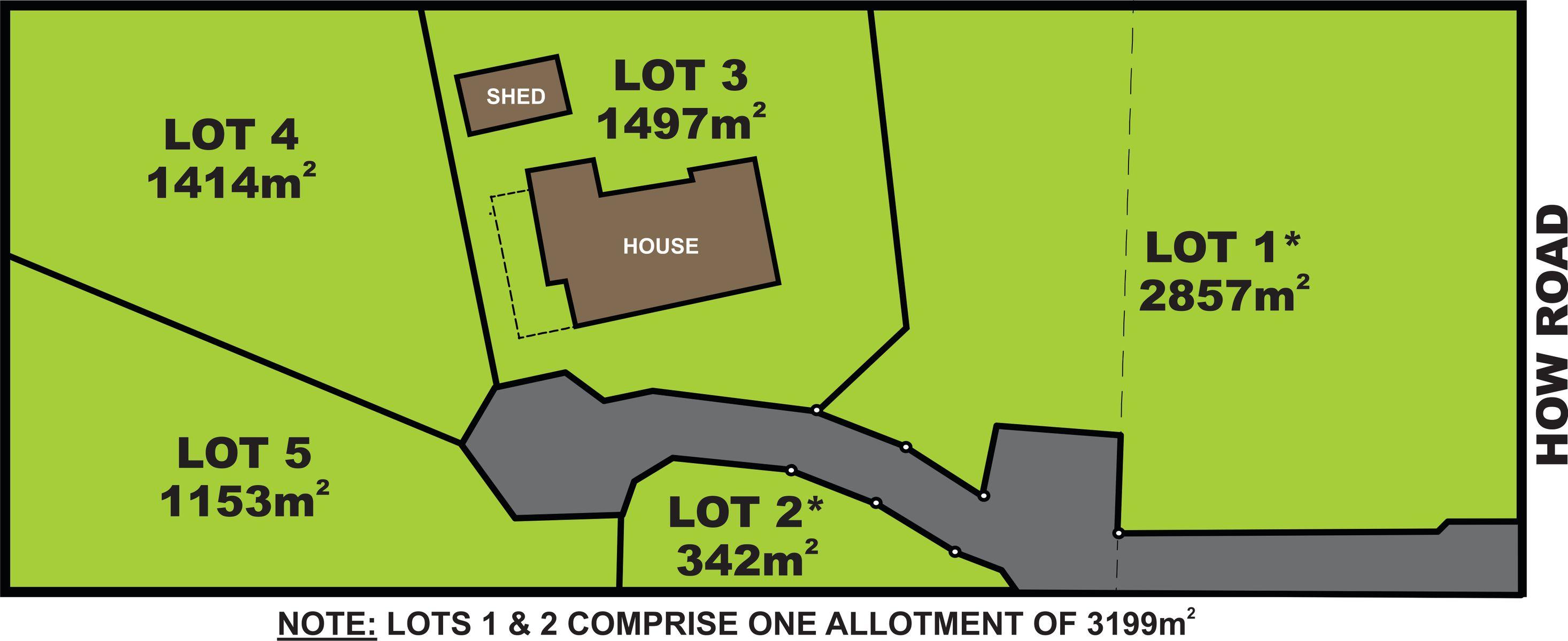 Lots 1,4,5/112-114 How Road, Aldinga Beach, SA 5173