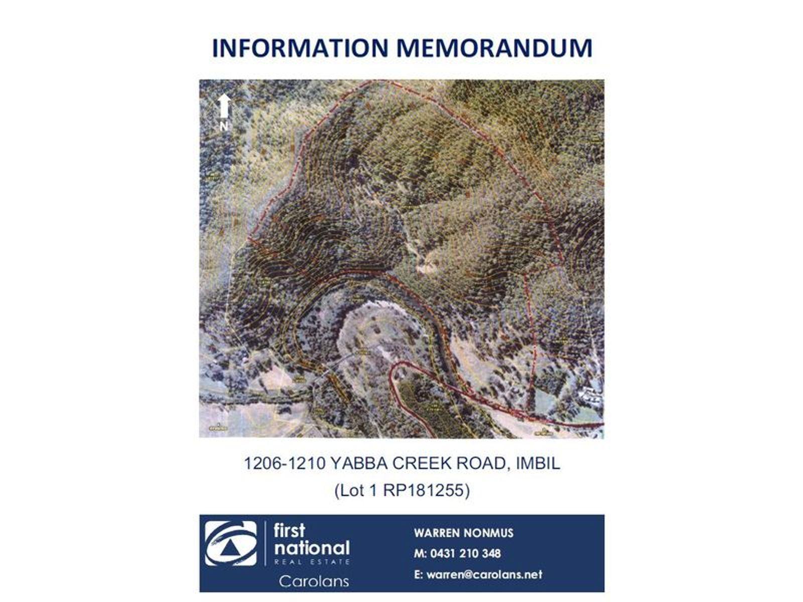1206-1210 Yabba Creek Road, Imbil, QLD 4570