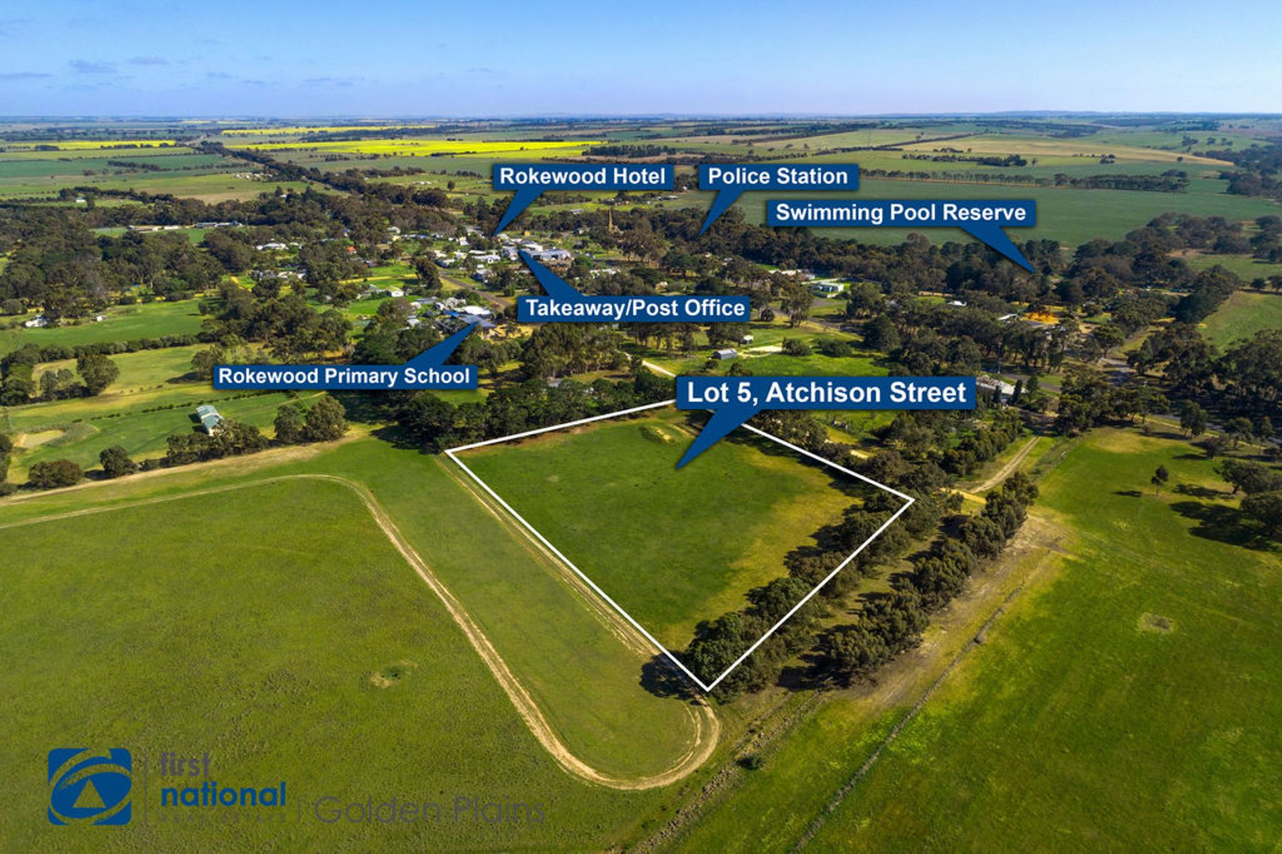Lot 5 Aitchison Street, Rokewood, VIC 3330
