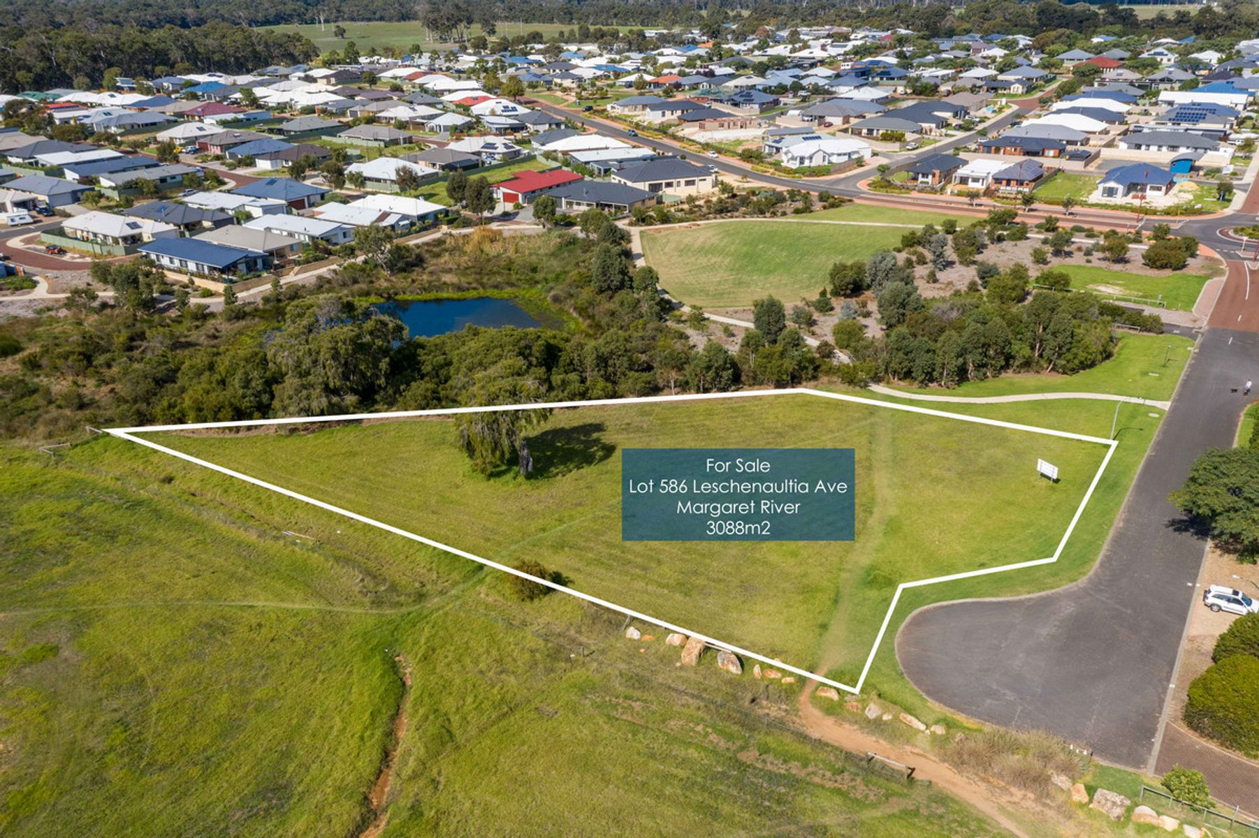 Lot 586 Leschenaultia Avenue, Margaret River, WA 6285