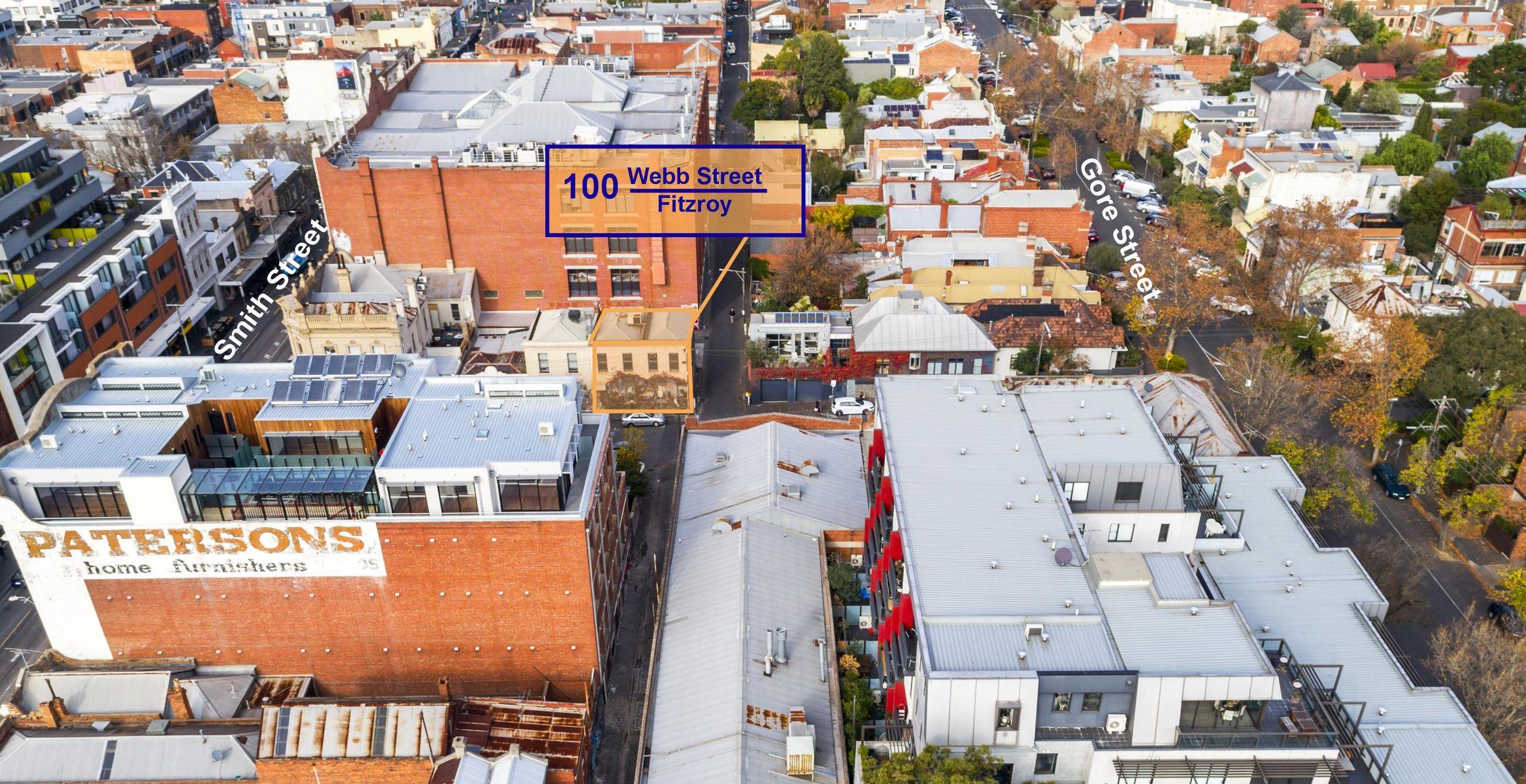 100 Webb Drone Sign