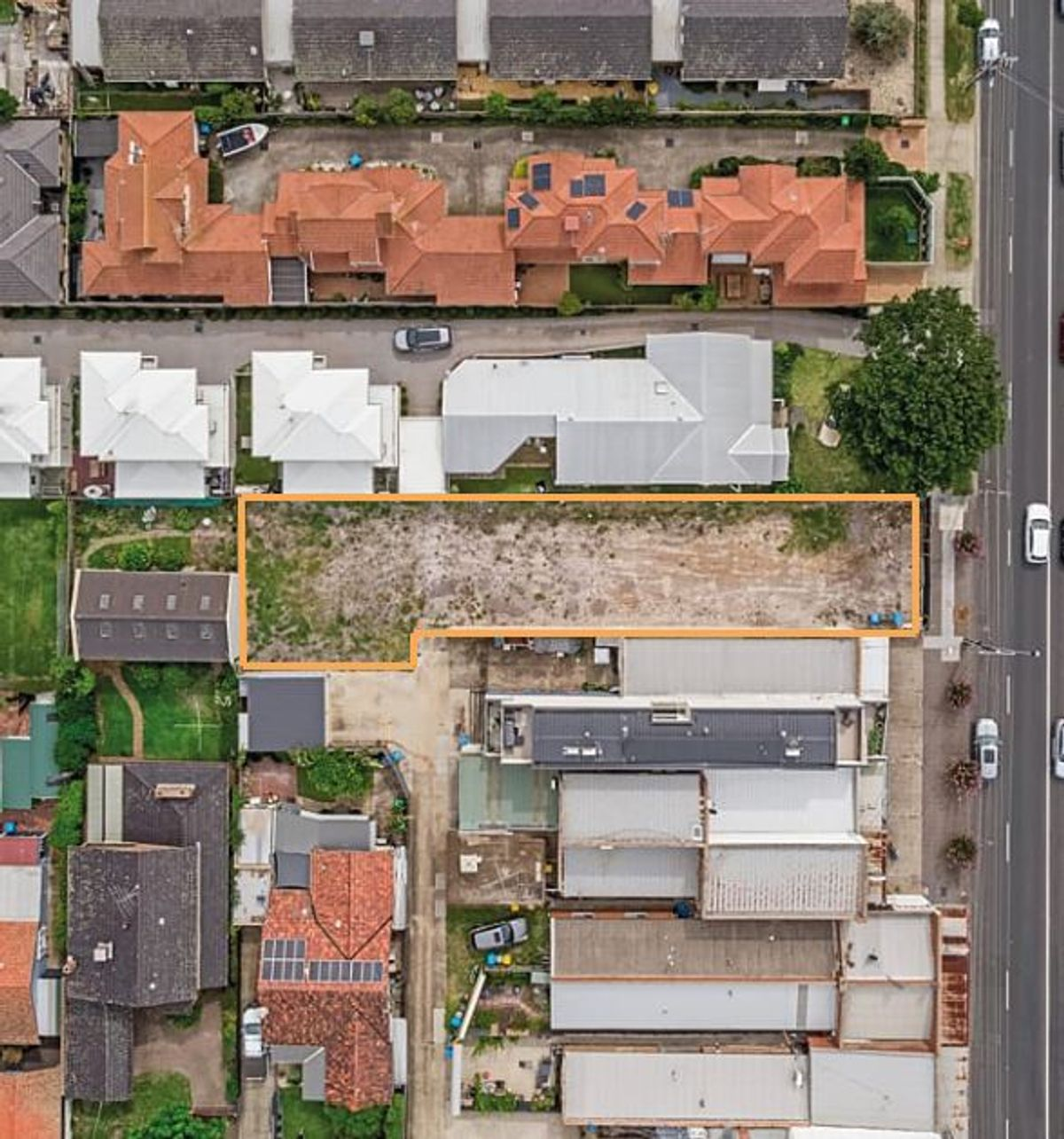 267 Bluff Road Sandringham Block outline