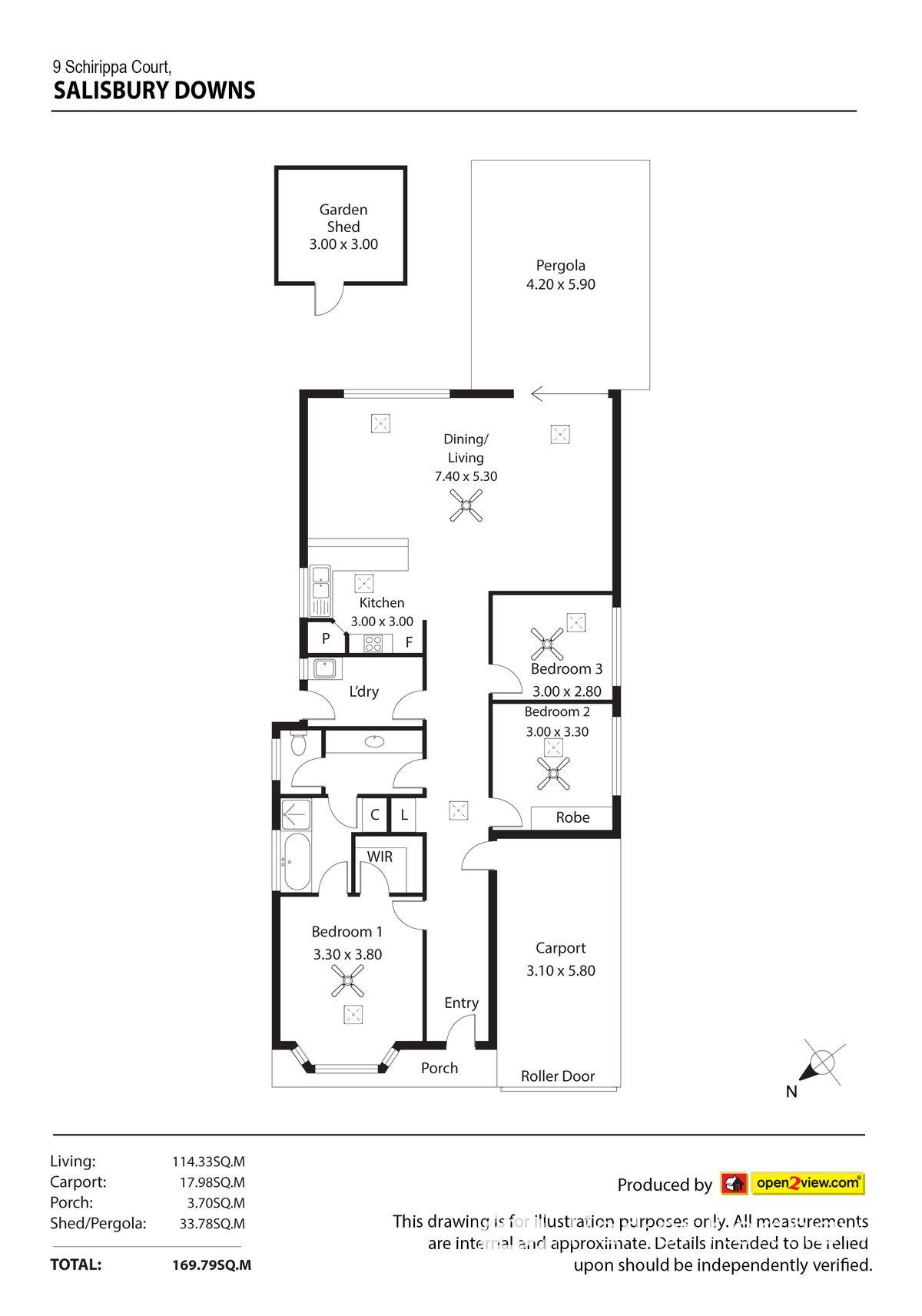 9 Schirripa Court, Salisbury Downs, SA 5108