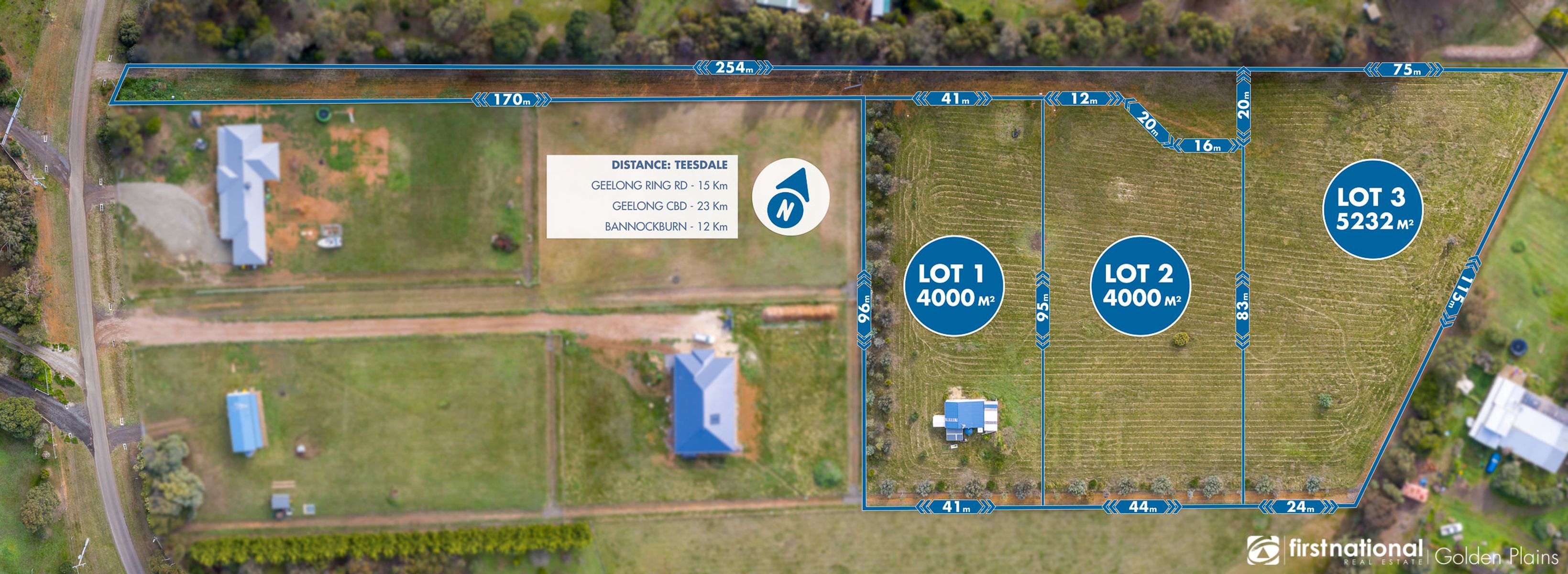 Lot 1, 120 Eagle Court, Teesdale, VIC 3328