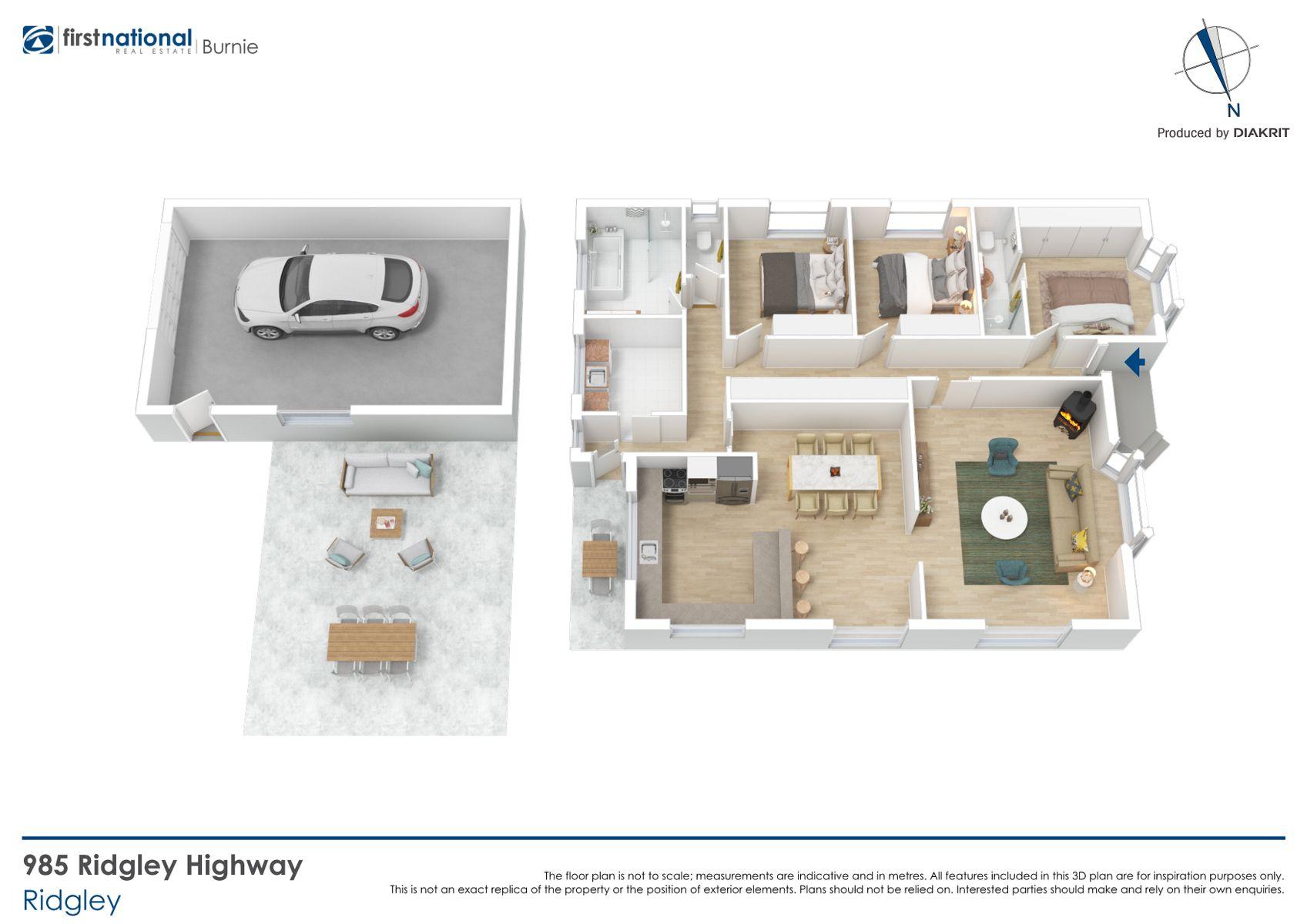 985 Ridgley Highway, Ridgley, TAS 7321