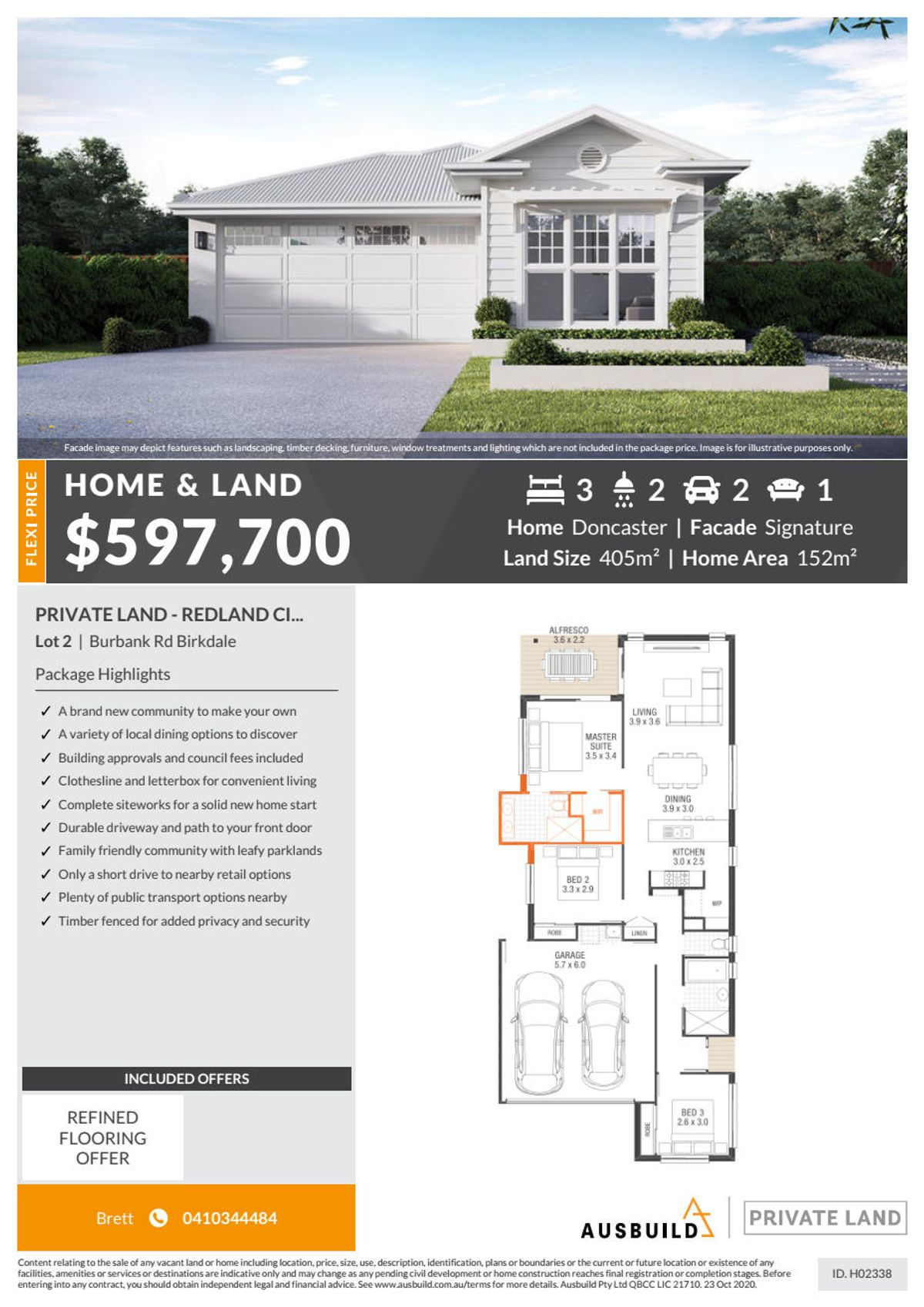 Lot 2 55-57 Burbank Road, Birkdale, QLD 4159