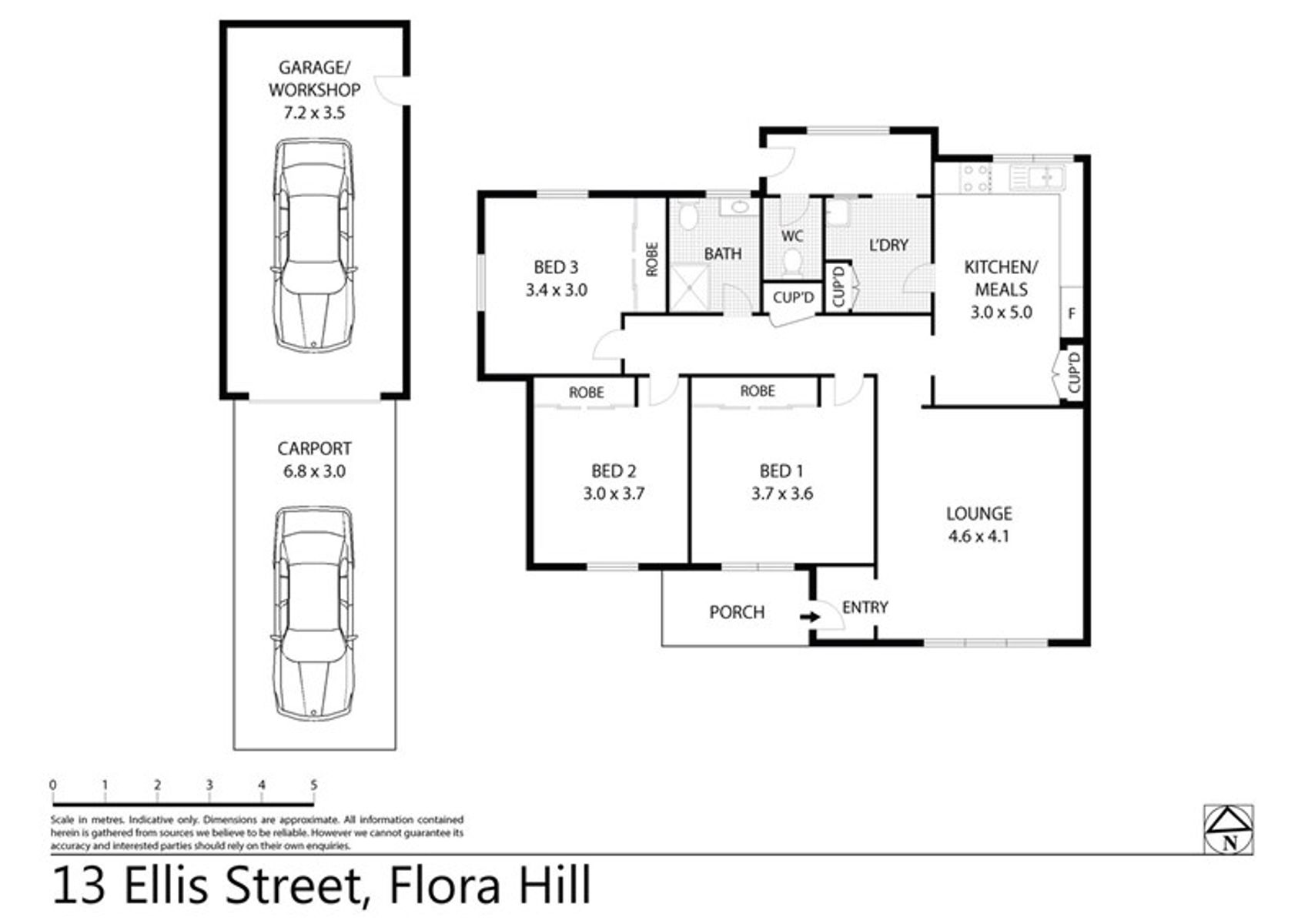 13 Ellis Street, Flora Hill, VIC 3550