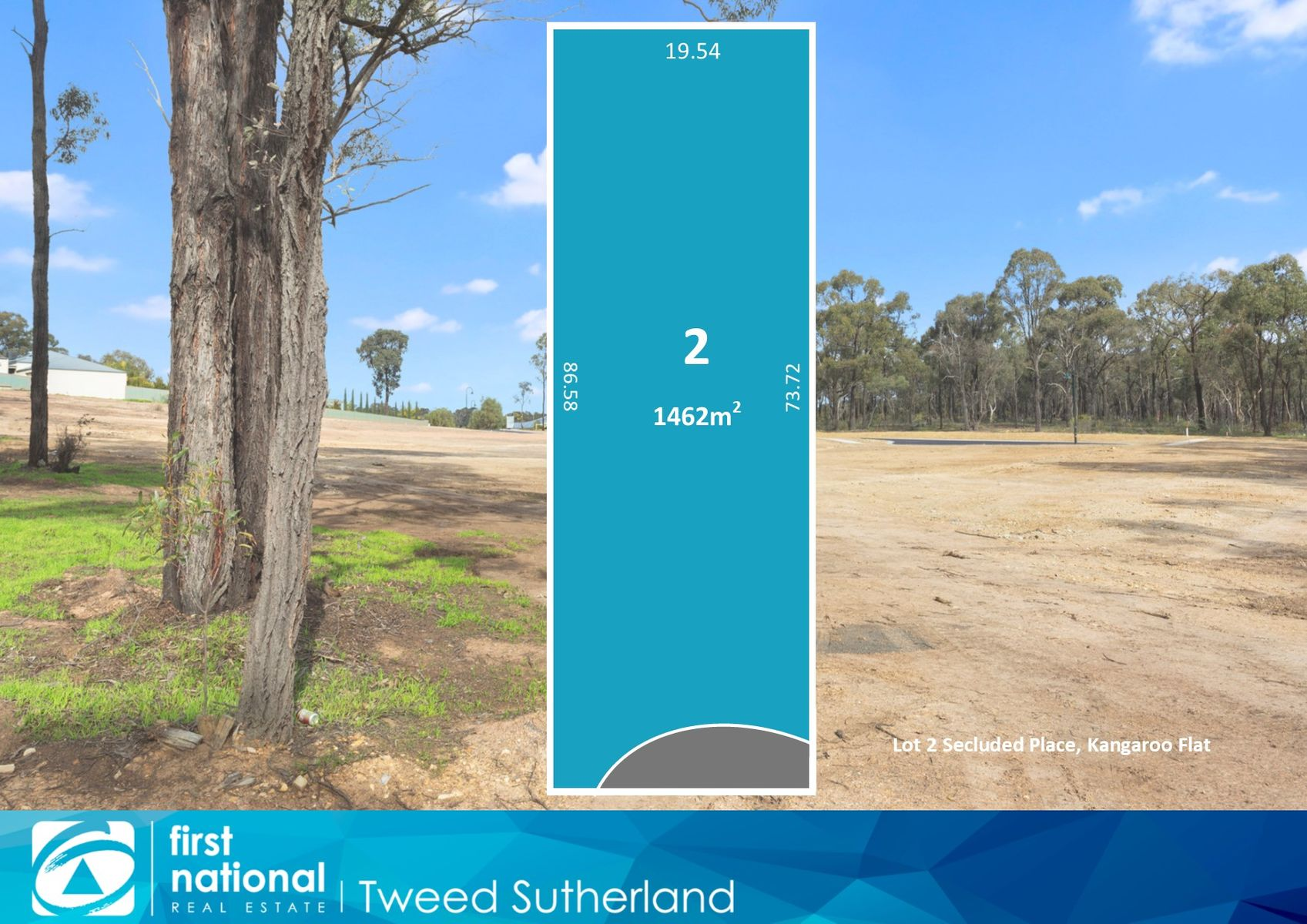 Lot 2  Secluded Place, Kangaroo Flat, VIC 3555