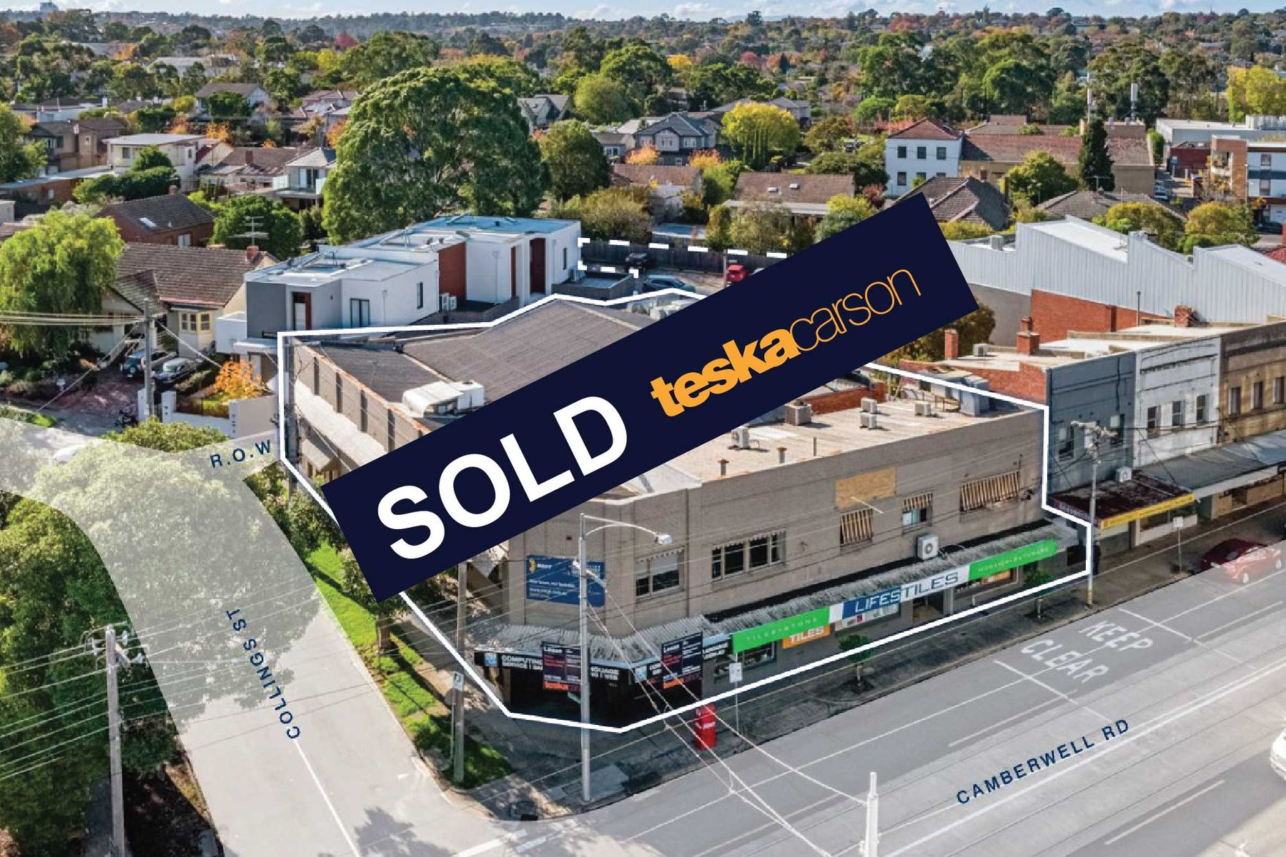 605 609 Camberwell Rd SOLD Banner