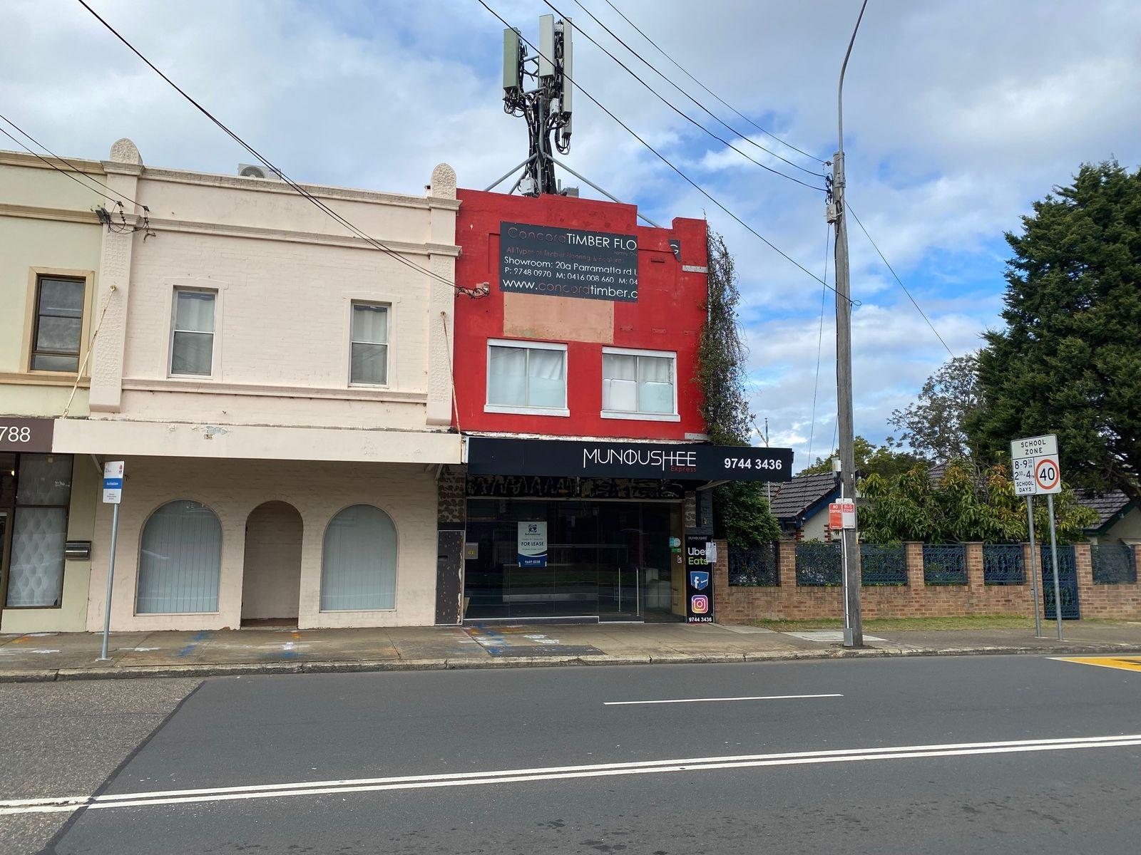 Shop 101 Burwood Road, Concord, NSW 2137