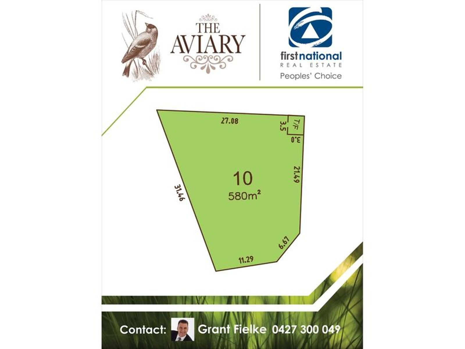 Lot 10, 38 Goldfinch Way, Hewett, SA 5118