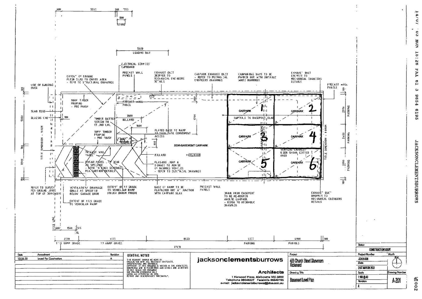 Building Plans Page 4 Basement