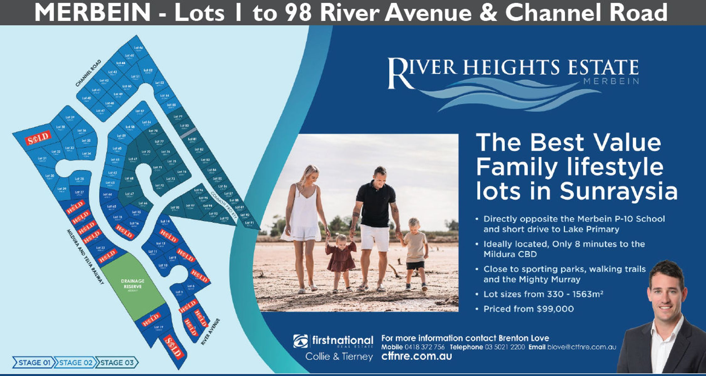 Lot 1 - 98/67 River Avenue, Merbein, VIC 3505