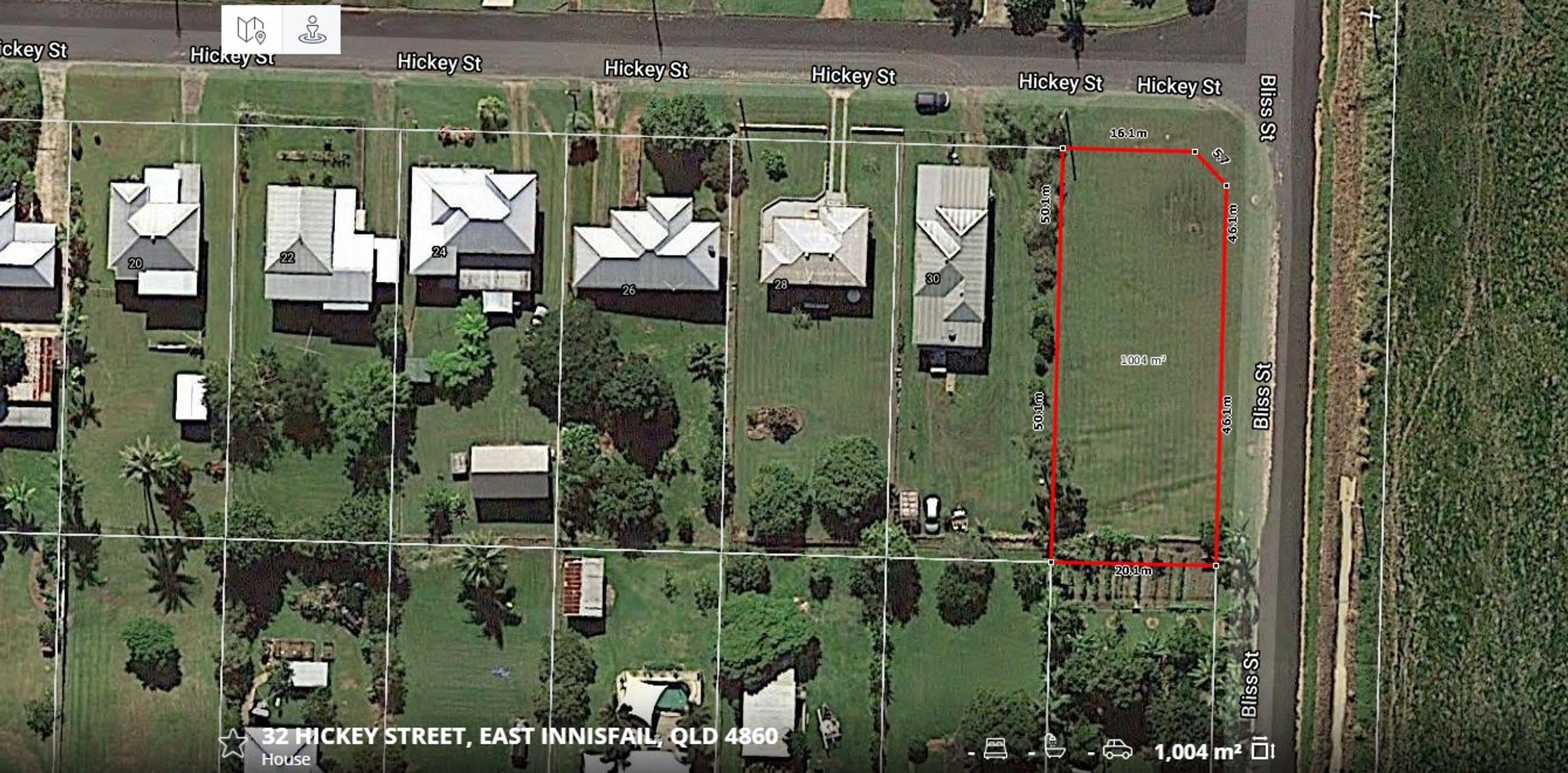 32 HICKEY STREET, East Innisfail, QLD 4860