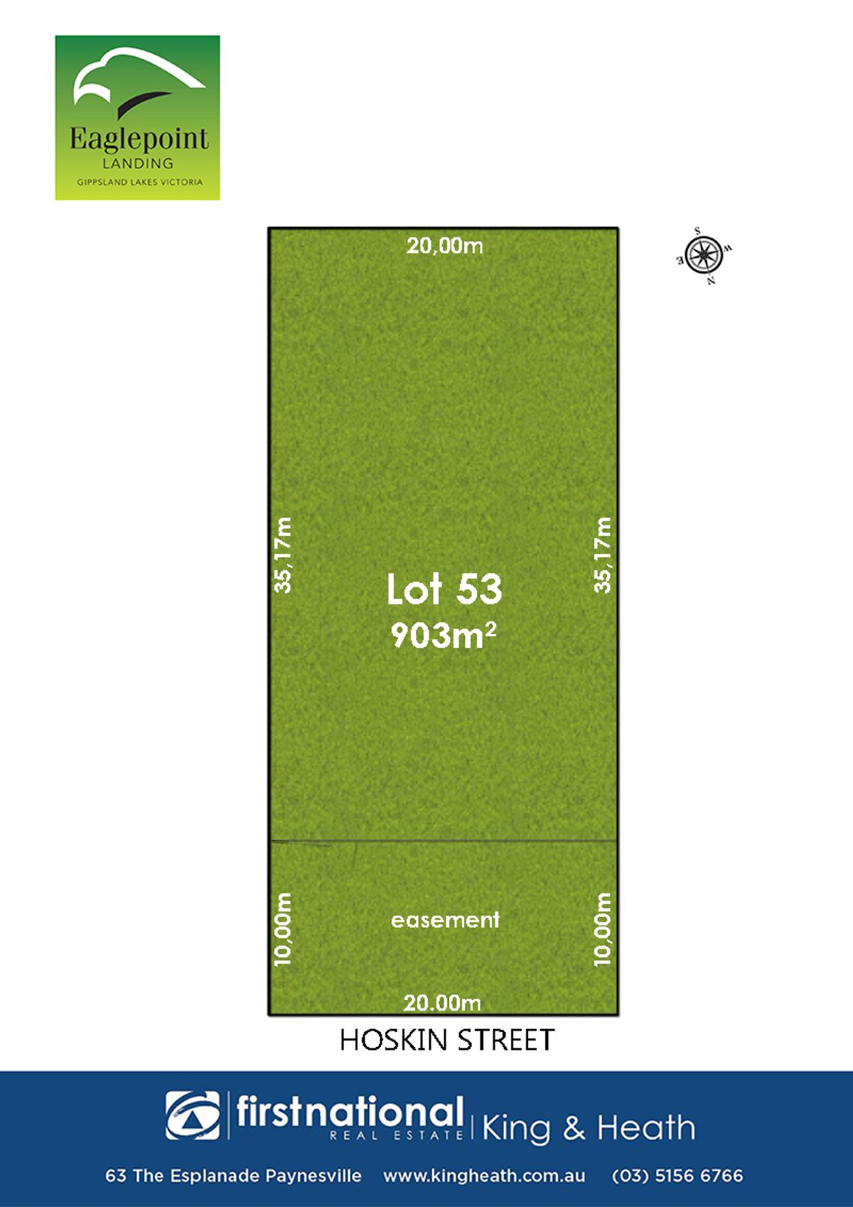 Lot 53, 9 Hoskin Street, Eagle Point, VIC 3878