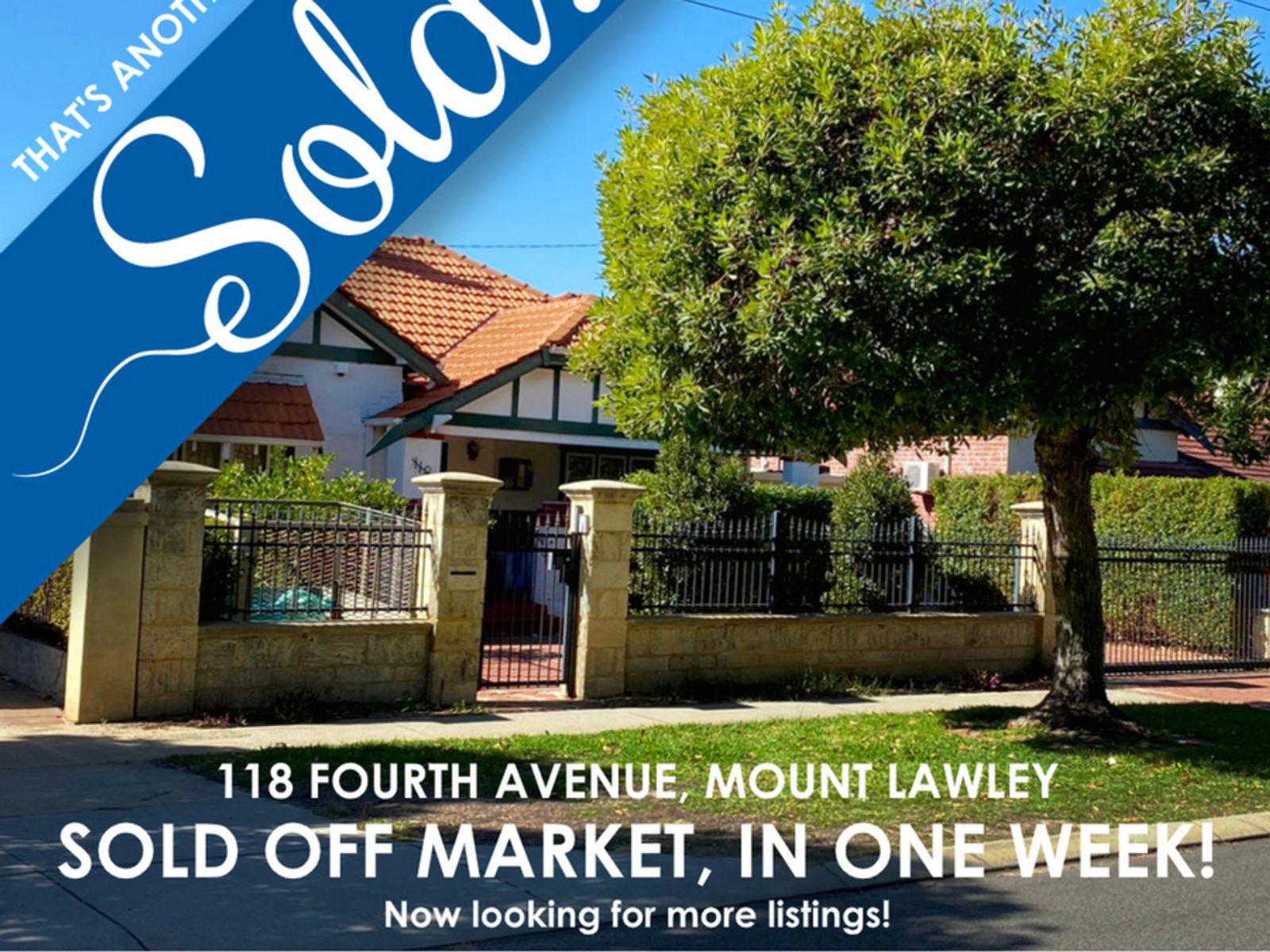 118 Fourth Avenue, Mount Lawley, WA 6050