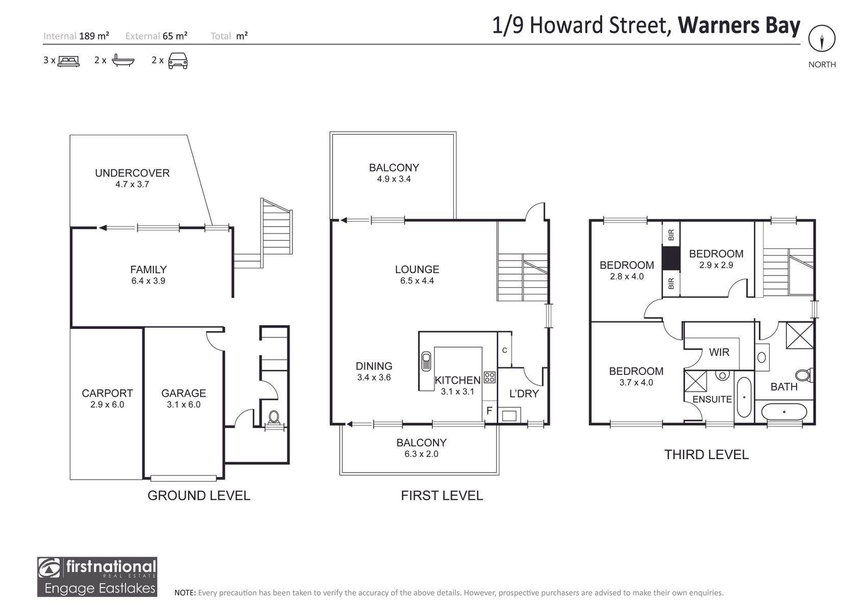 1/9 Howard Street, Warners Bay, NSW 2282