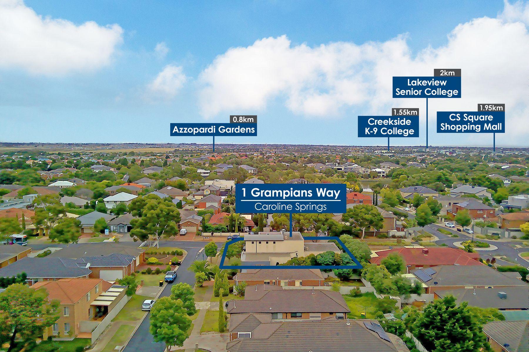 1 Grampians Way, Caroline Springs, VIC 3023