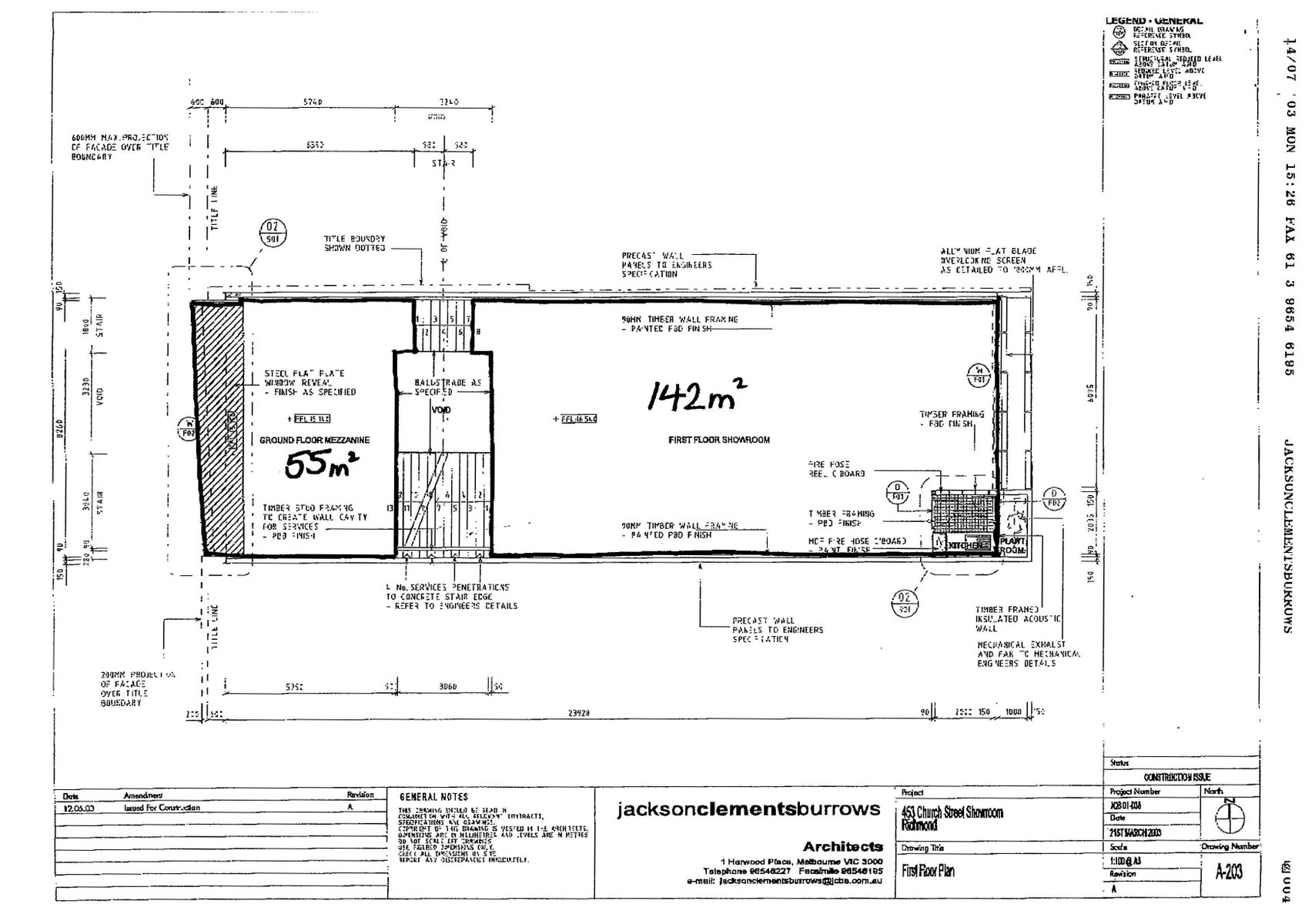 Building Plans Page 2 First Floor