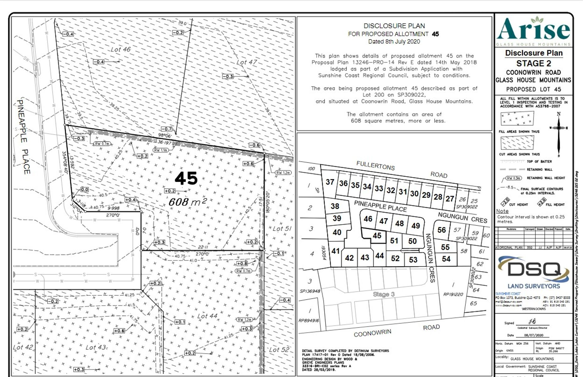 Lot 45 Pineapple Place, Glass House Mountains, QLD 4518