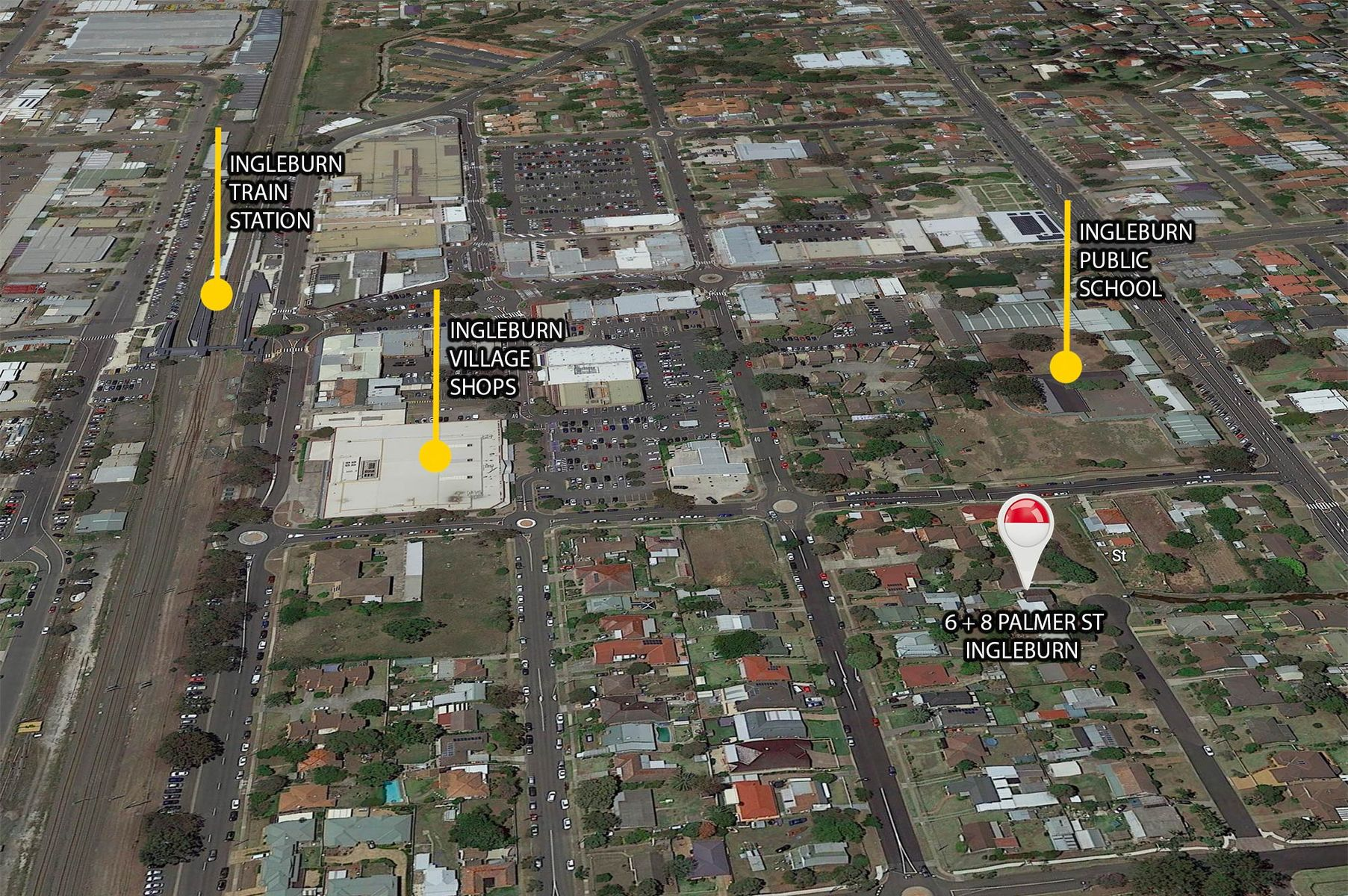 6 & 8  Palmer Street, Ingleburn, NSW 2565