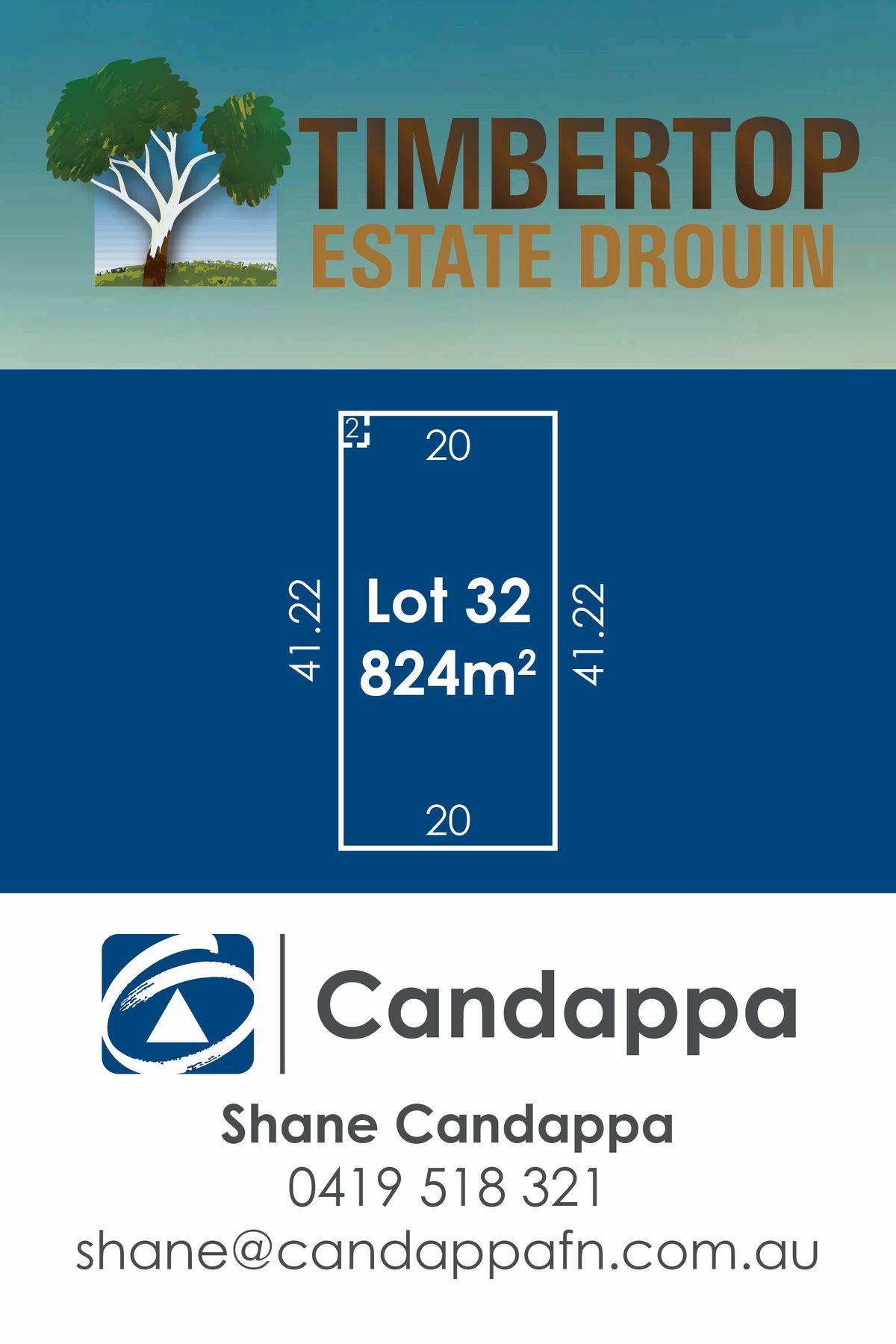 30 (LOT 32) Timbertop Crescent, Drouin, VIC 3818