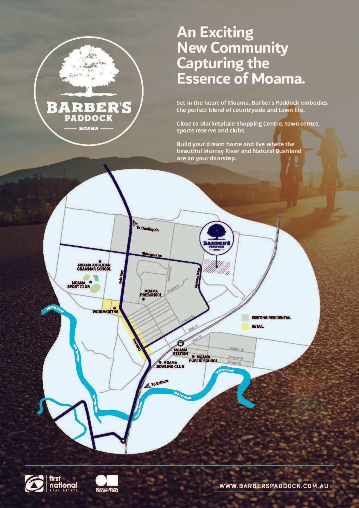 Lot 128-149/00 Stage 6 Barber's Paddock, Emmylou Place, Moama, NSW 2731