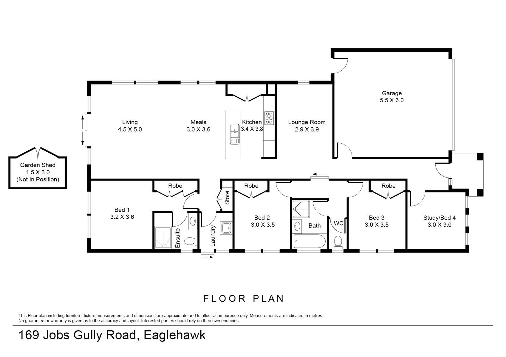 169 Jobs Gully Road, Eaglehawk, VIC 3556