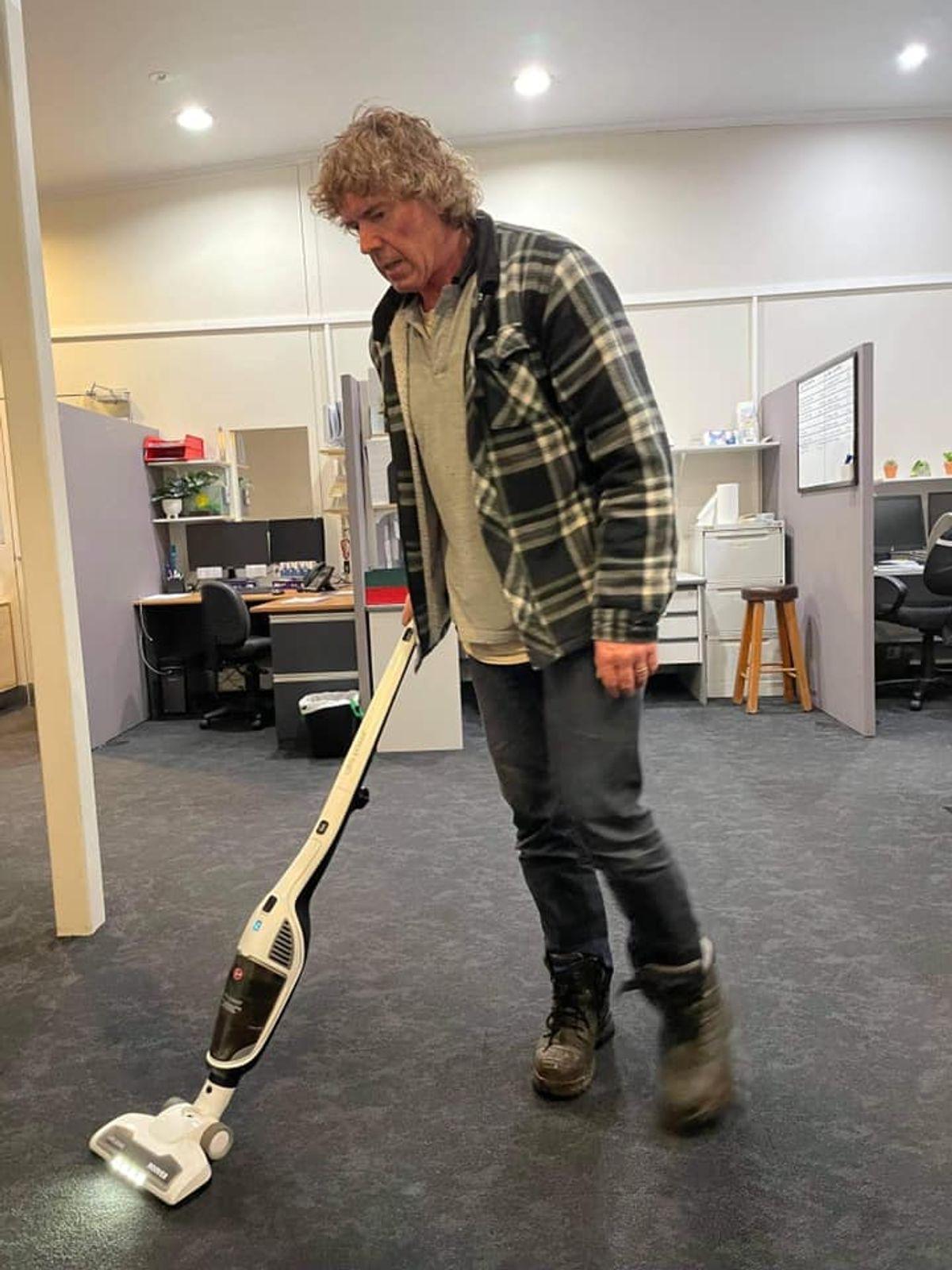 #Cleaningman