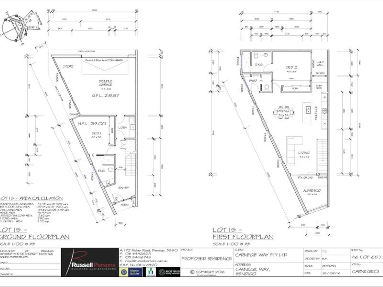 Lots 15-18 Carnegie Way, Bendigo, VIC 3550