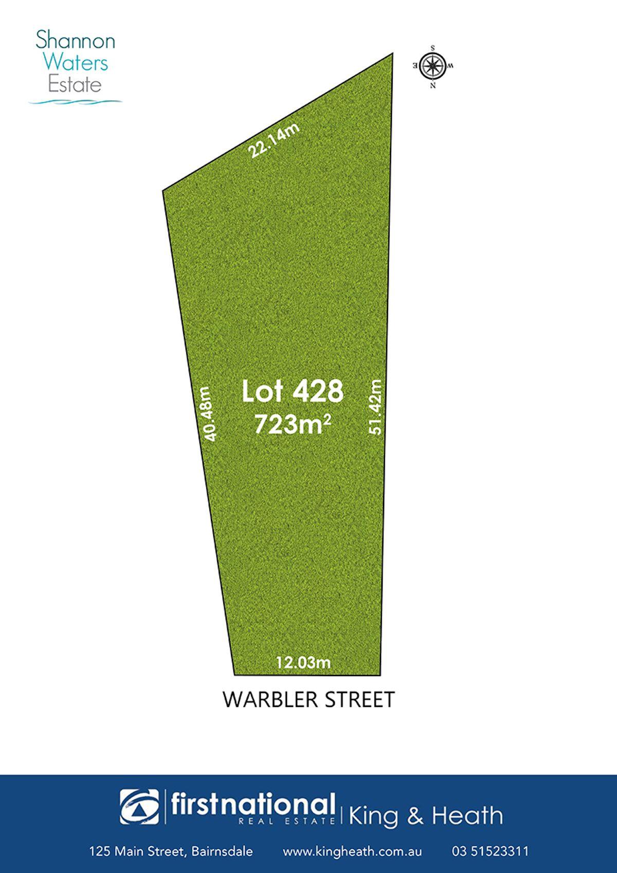 Lot 428 Warbler Street, Bairnsdale, VIC 3875
