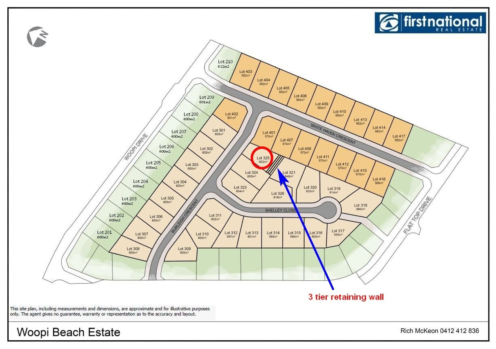 Lot 325 Burleigh Crescent, Woolgoolga, NSW 2456