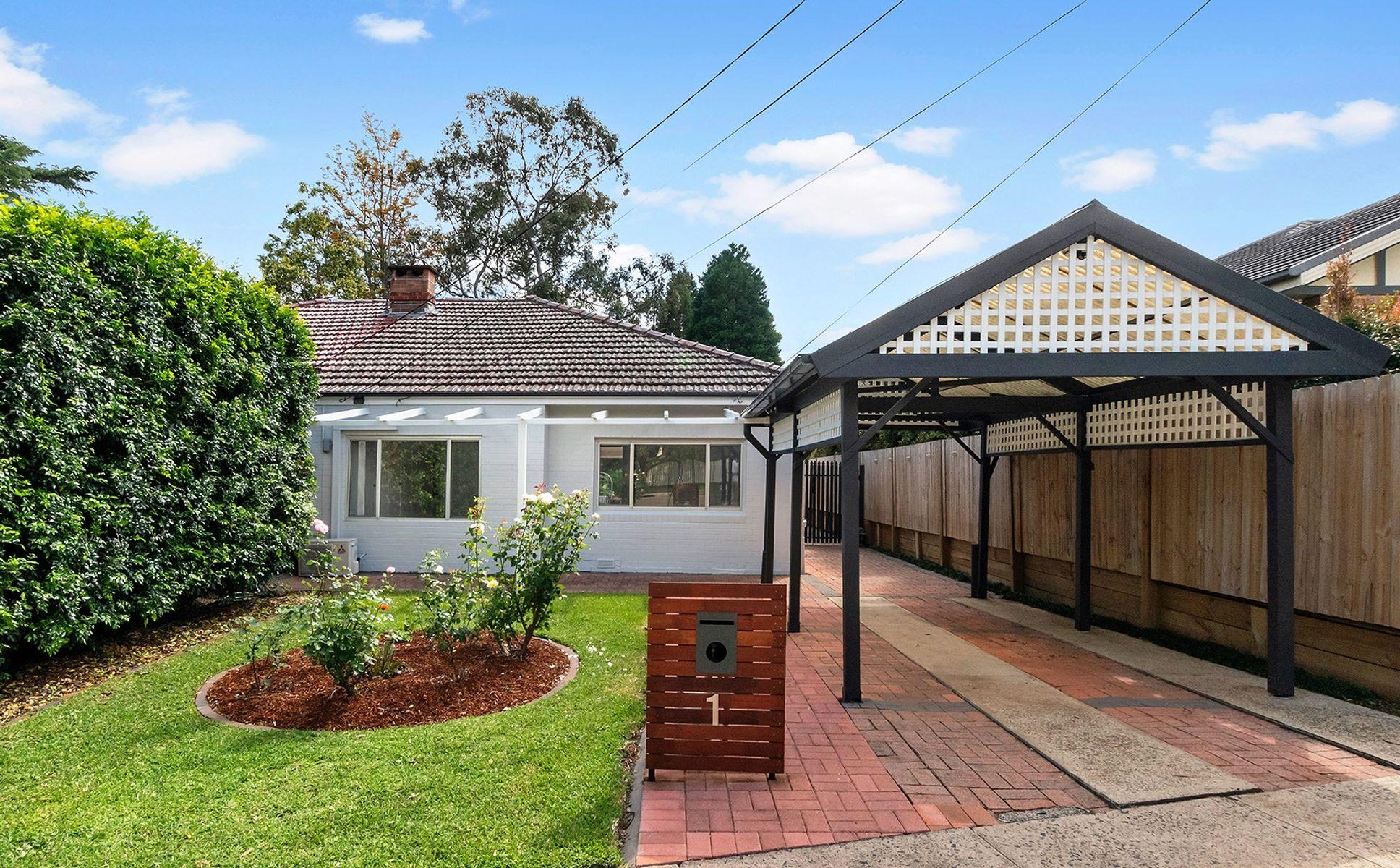 1 Bertram Street, Eastwood, NSW 2122