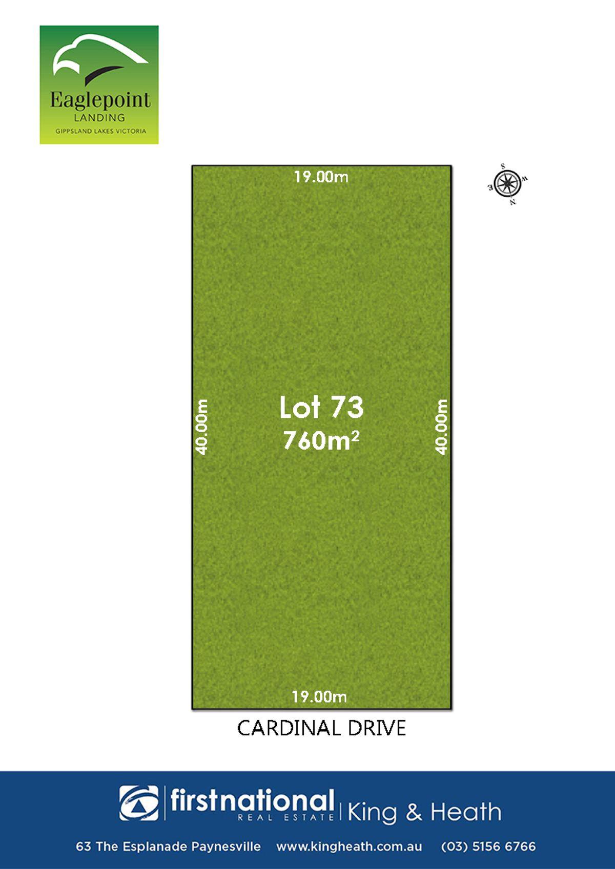 Lot 73, 42 Cardinal Drive, Eagle Point, VIC 3878