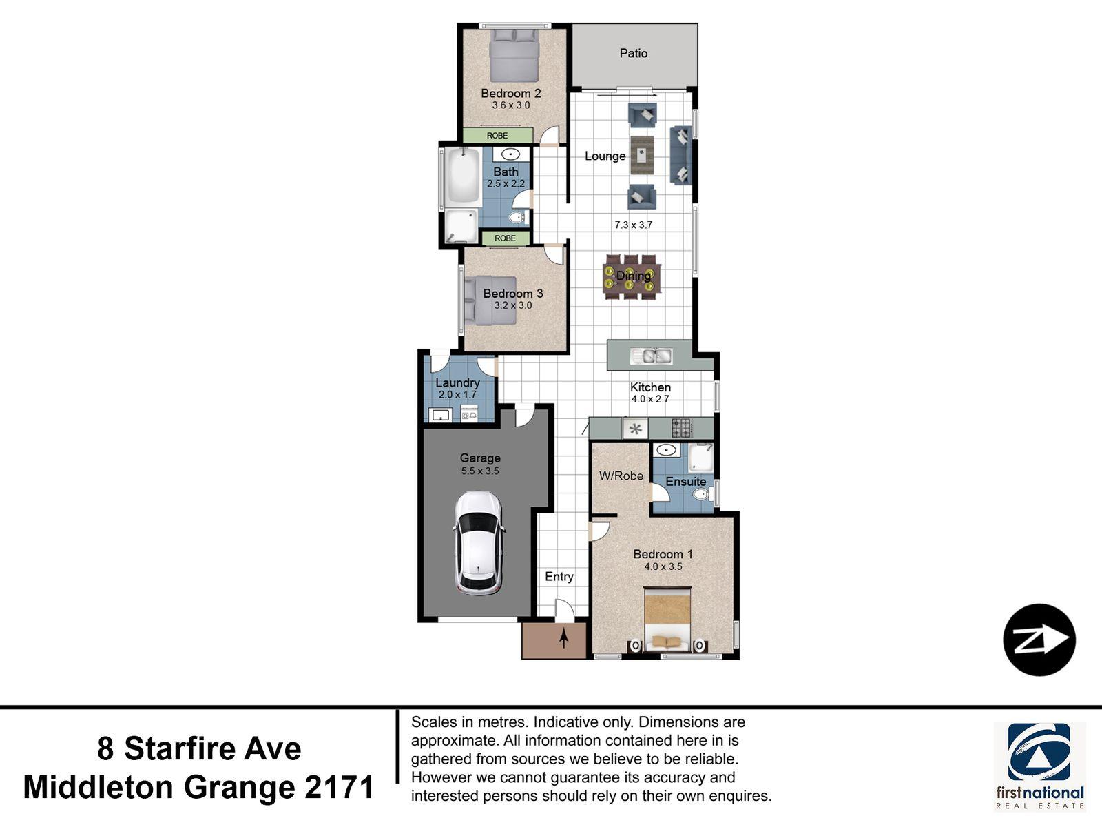 8 Starfire Avenue, Middleton Grange, NSW 2171