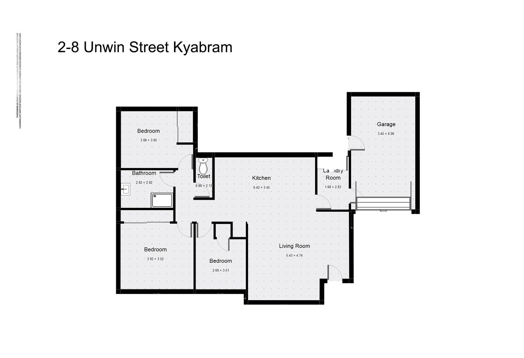 2/8 Unwin Street, Kyabram, VIC 3620