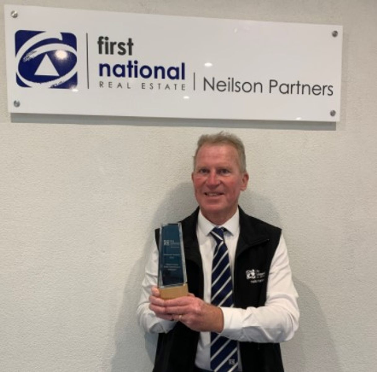 Nyall Greene with his Lifestyle Award