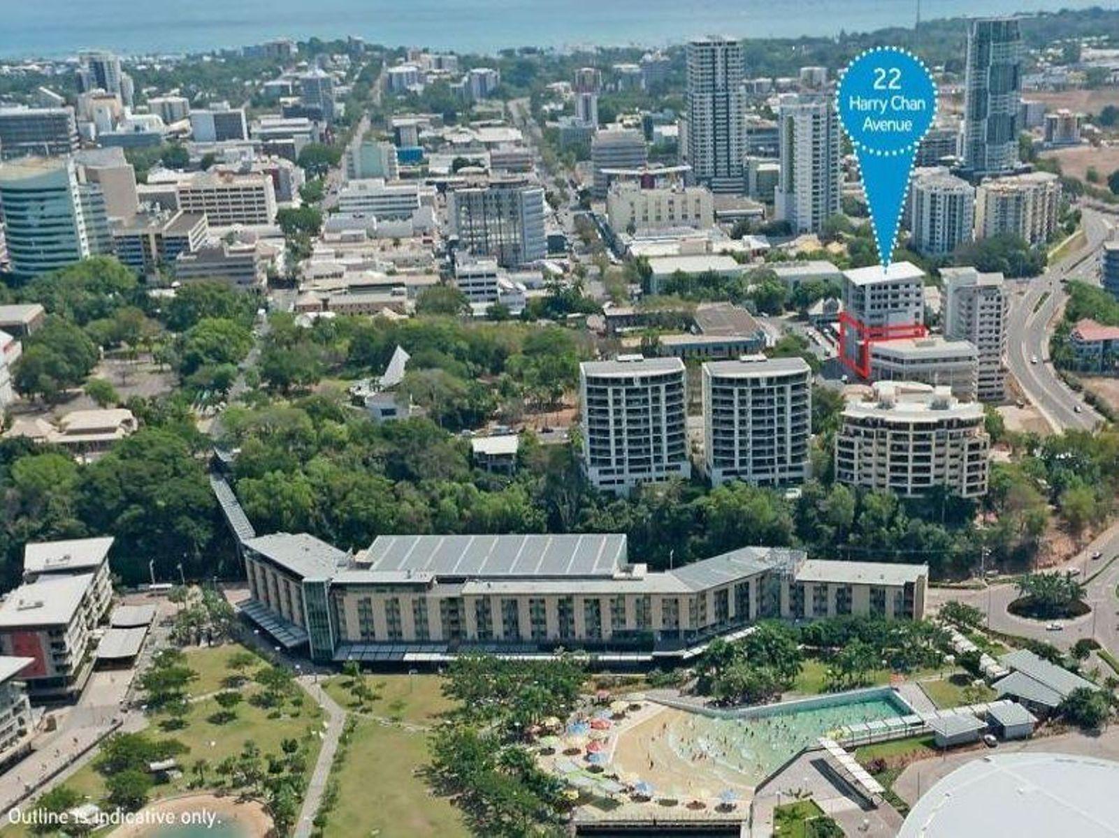 22 Harry Chan Avenue, Darwin City, NT 0800